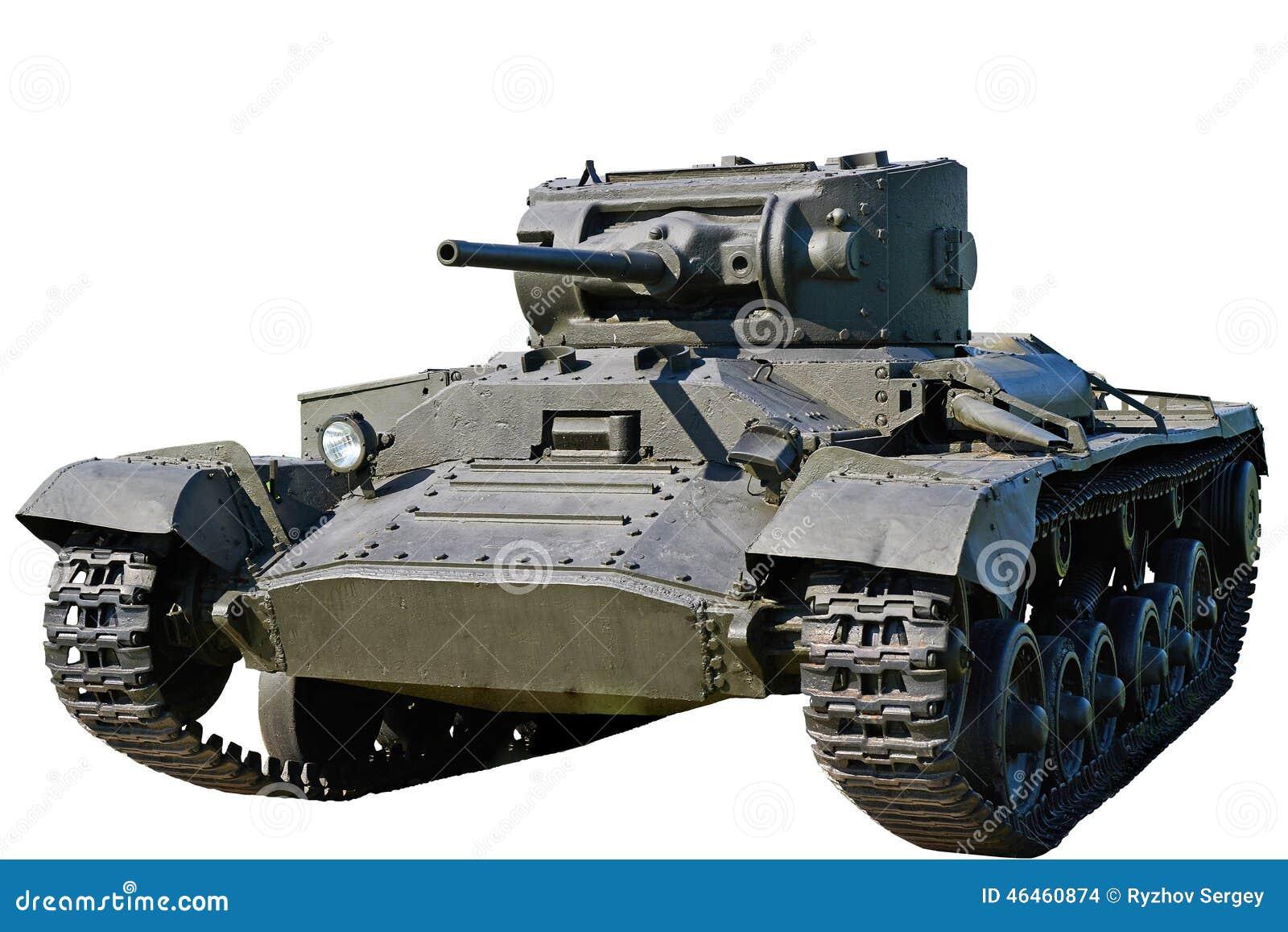 El tanque Mk de la infantería III tarjeta del día de San Valentín VI aislado