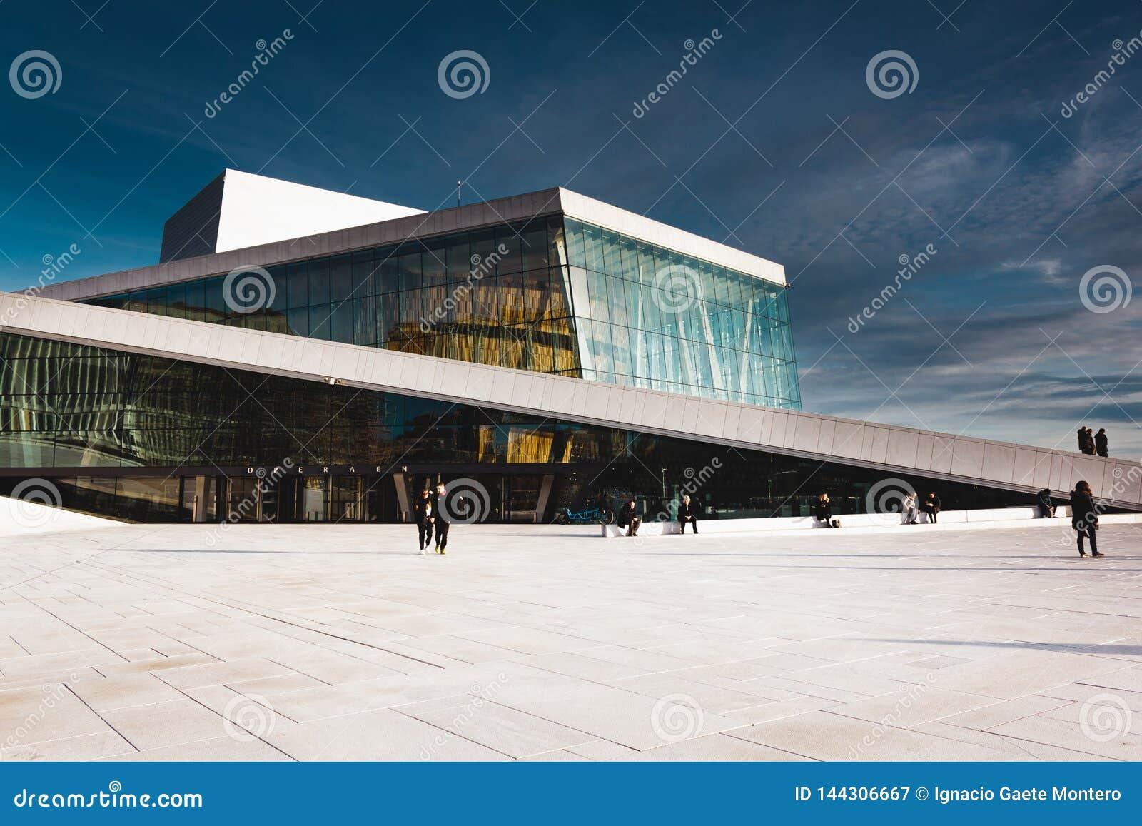 El teatro de la ópera de Oslo, Operahuset