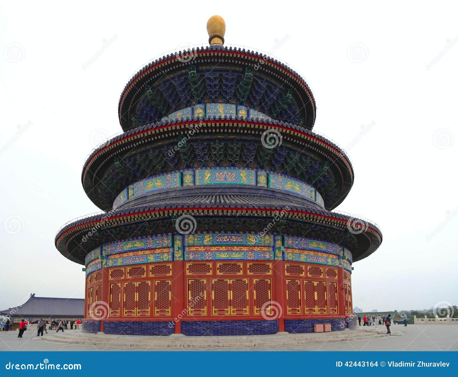 El Templo del Cielo (altar del cielo), Pekín, China