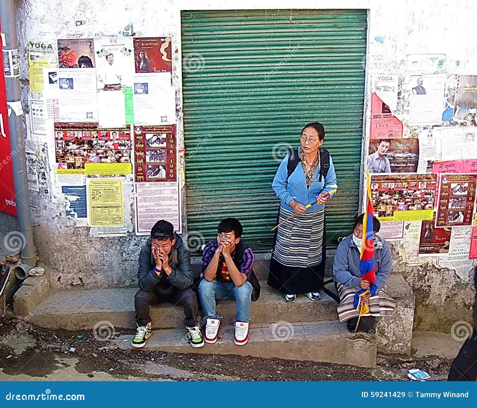 Download El Tibetano Exilia El Día Dharamsala La India De La Sublevación Imagen de archivo editorial - Imagen de sociedad, protesta: 59241429
