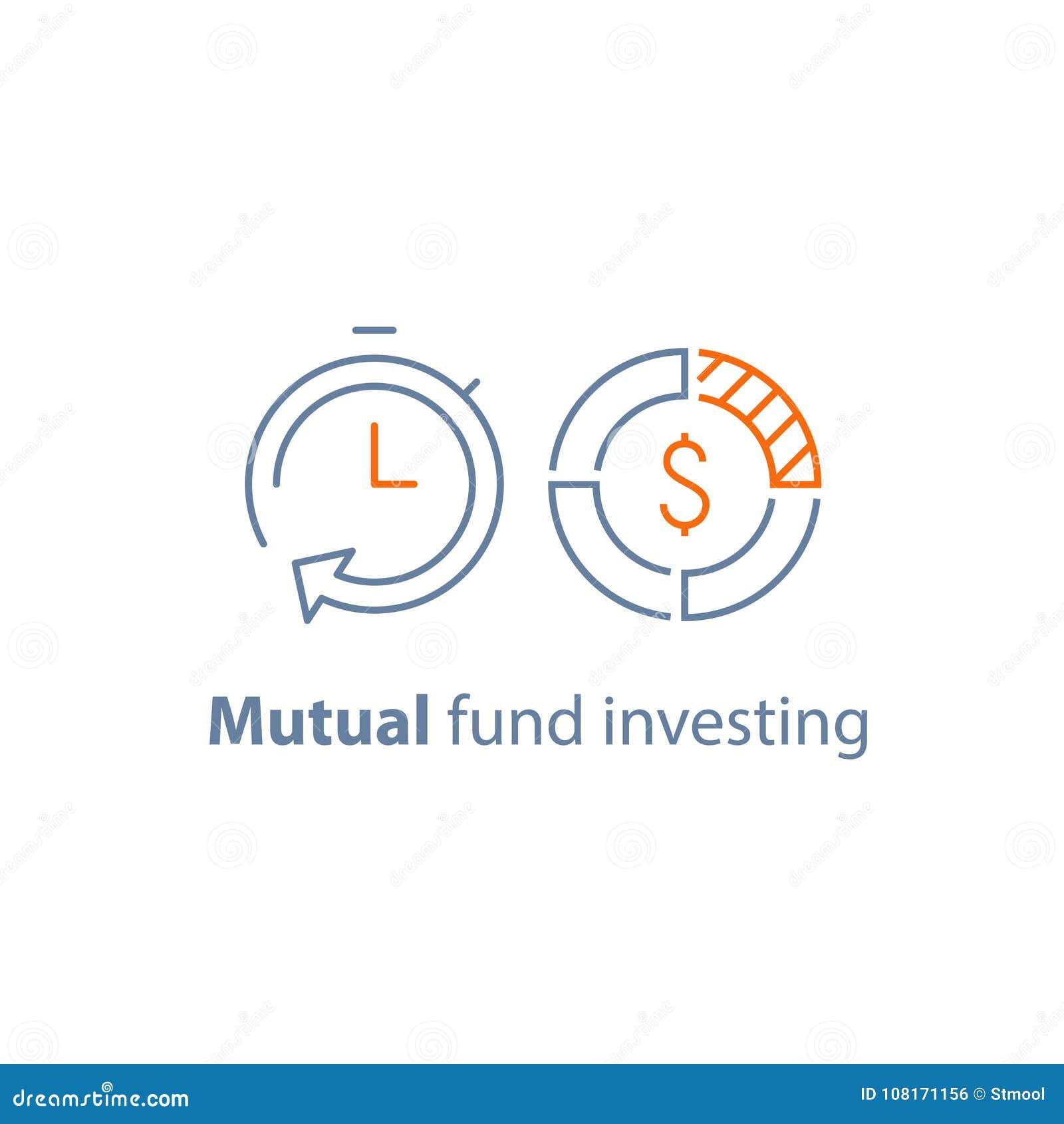 El tiempo es oro, gestión de fondos, inversión a largo plazo, estrategia financiera, solución de las finanzas, aprobación de prés