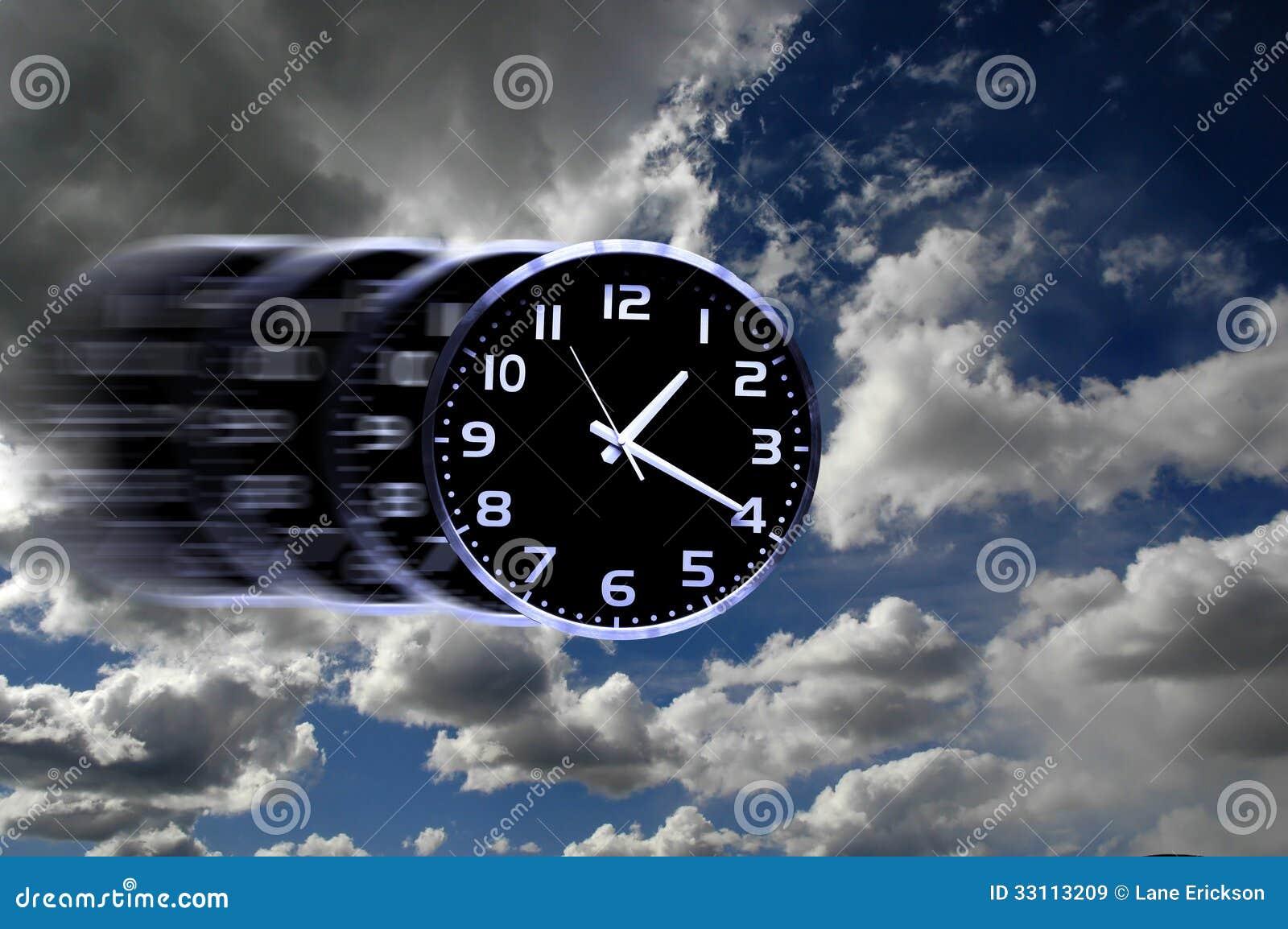 El tiempo vuela o tiempo r pido im genes de archivo libres - El tiempo getafe por horas ...