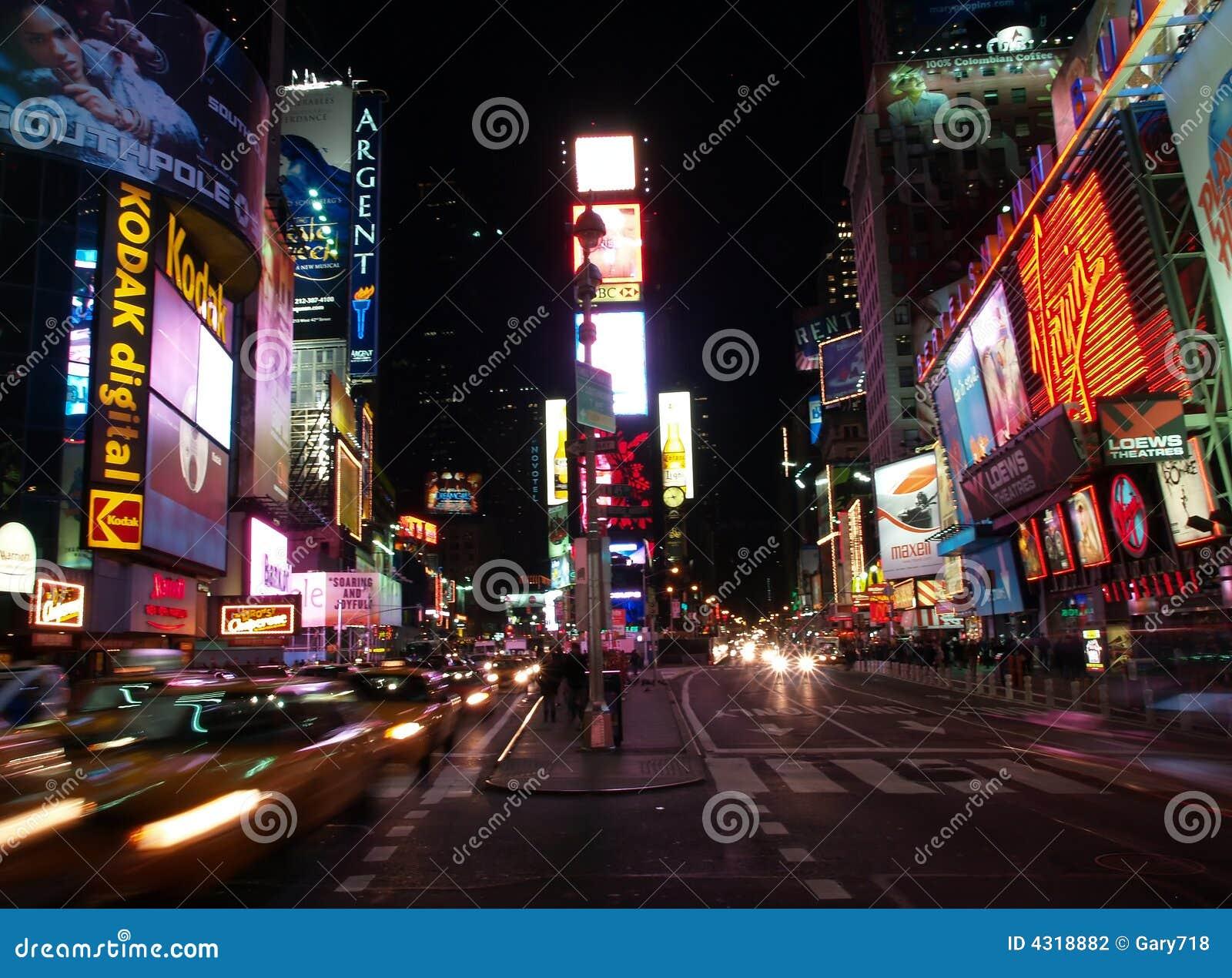 El Times Square en NYC