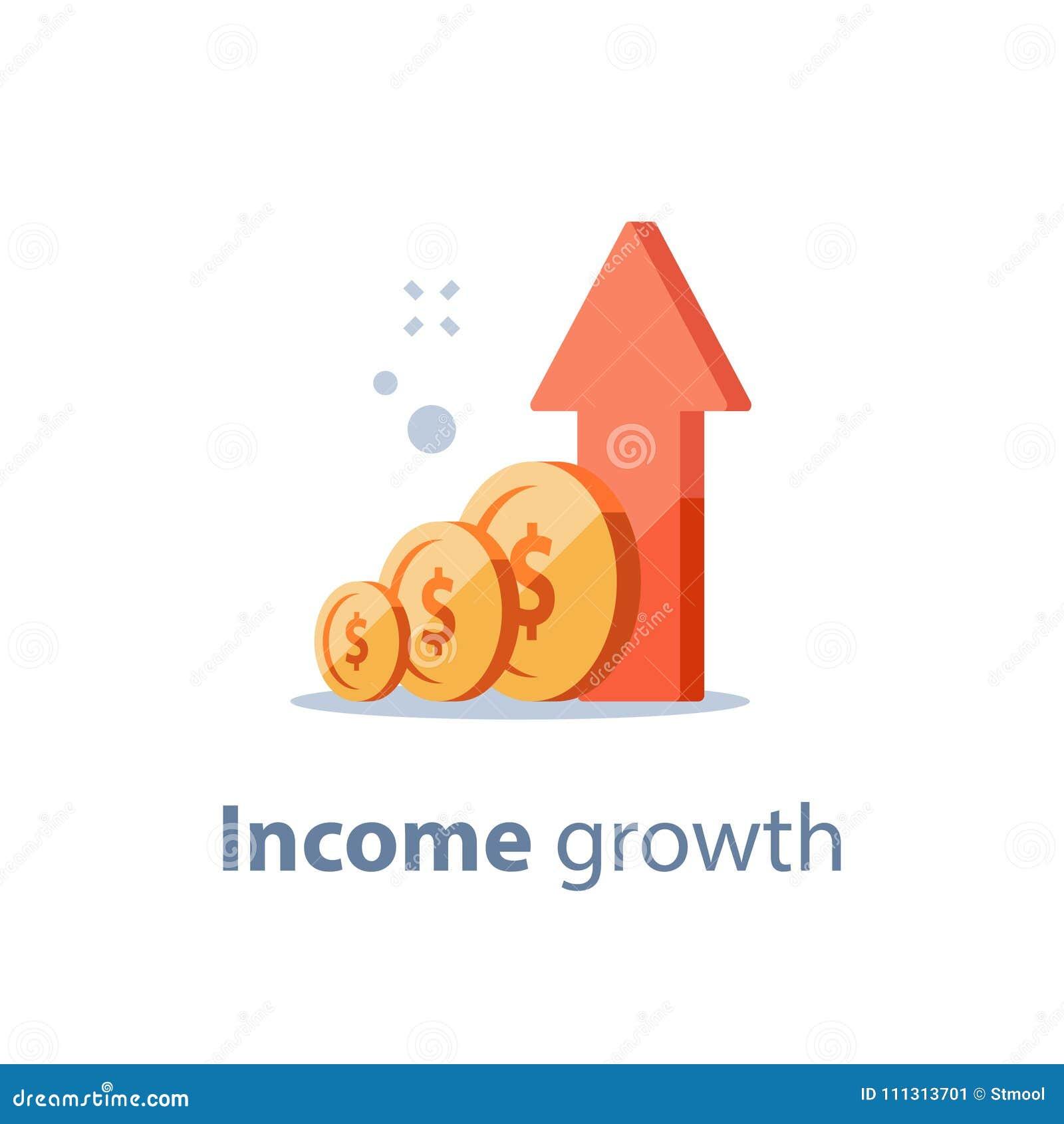 El tipo de interés alto, largo plazo que invierte la estrategia, crecimiento de la renta, impulsa los ingresos del negocio, obten