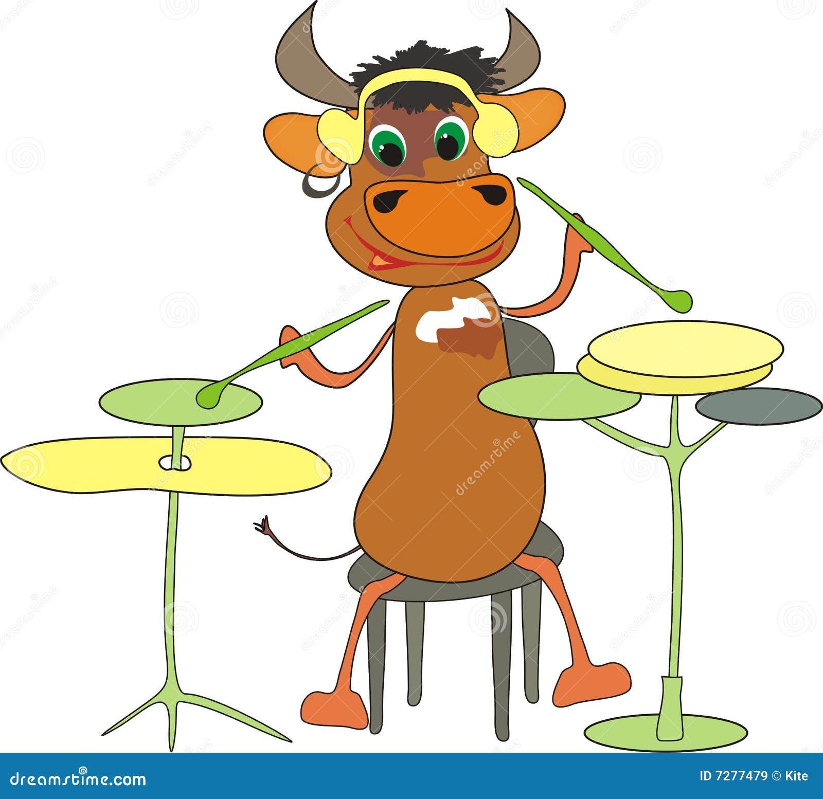 El toro musical del Año Nuevo