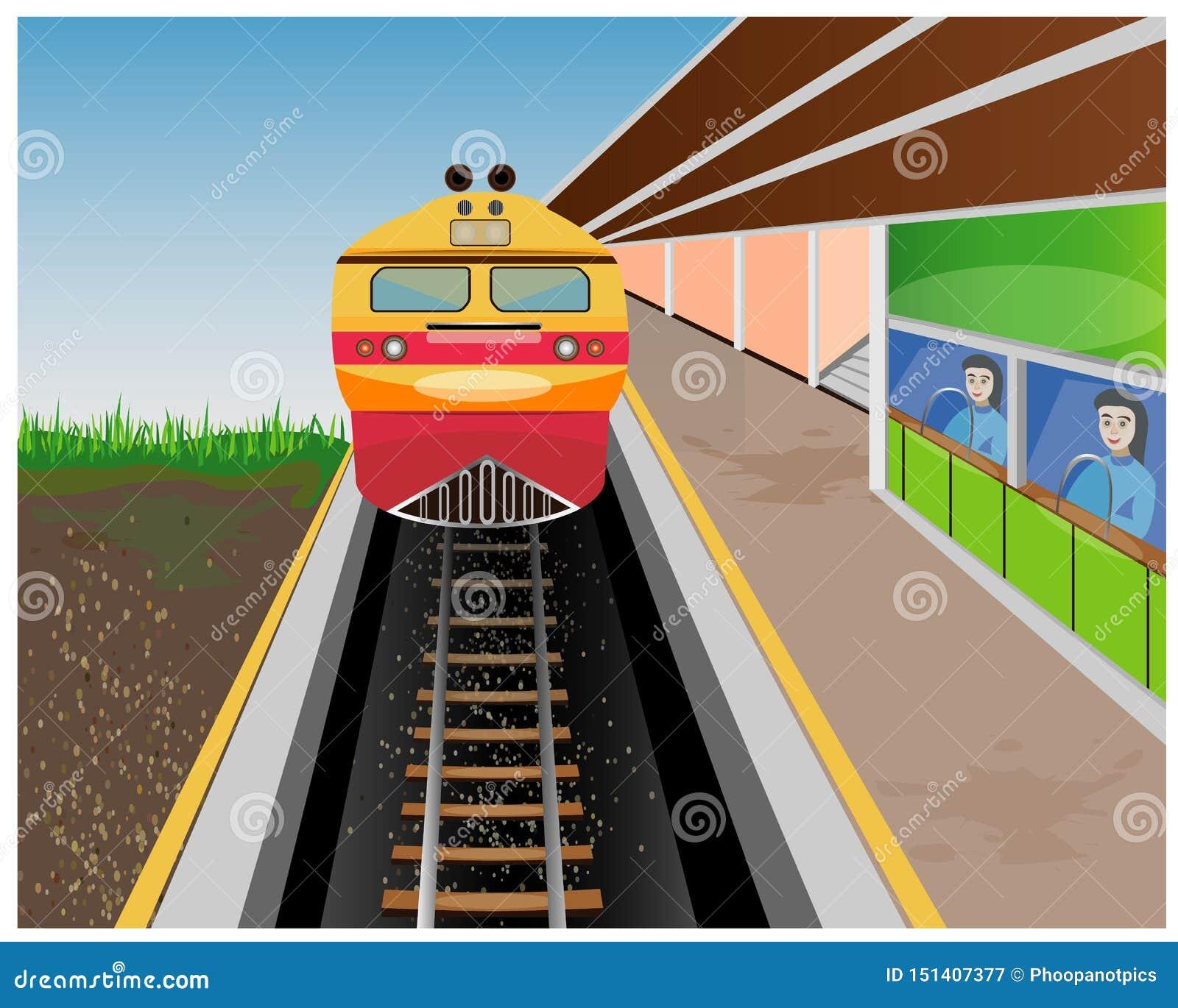 El tren amarillo