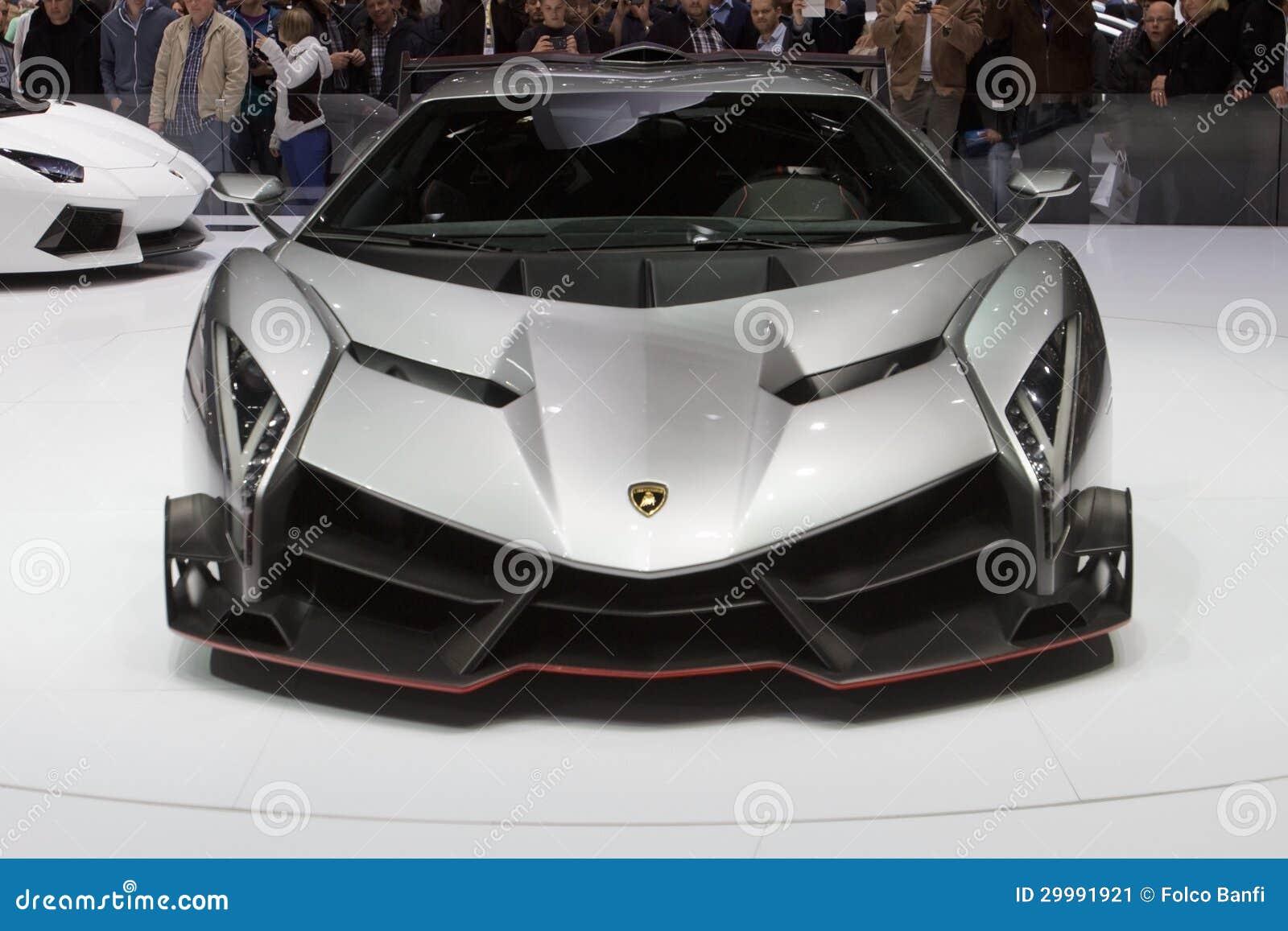 Estreno mundial de Lamborghini Veneno - salón del automóvil 2013 de Ginebra