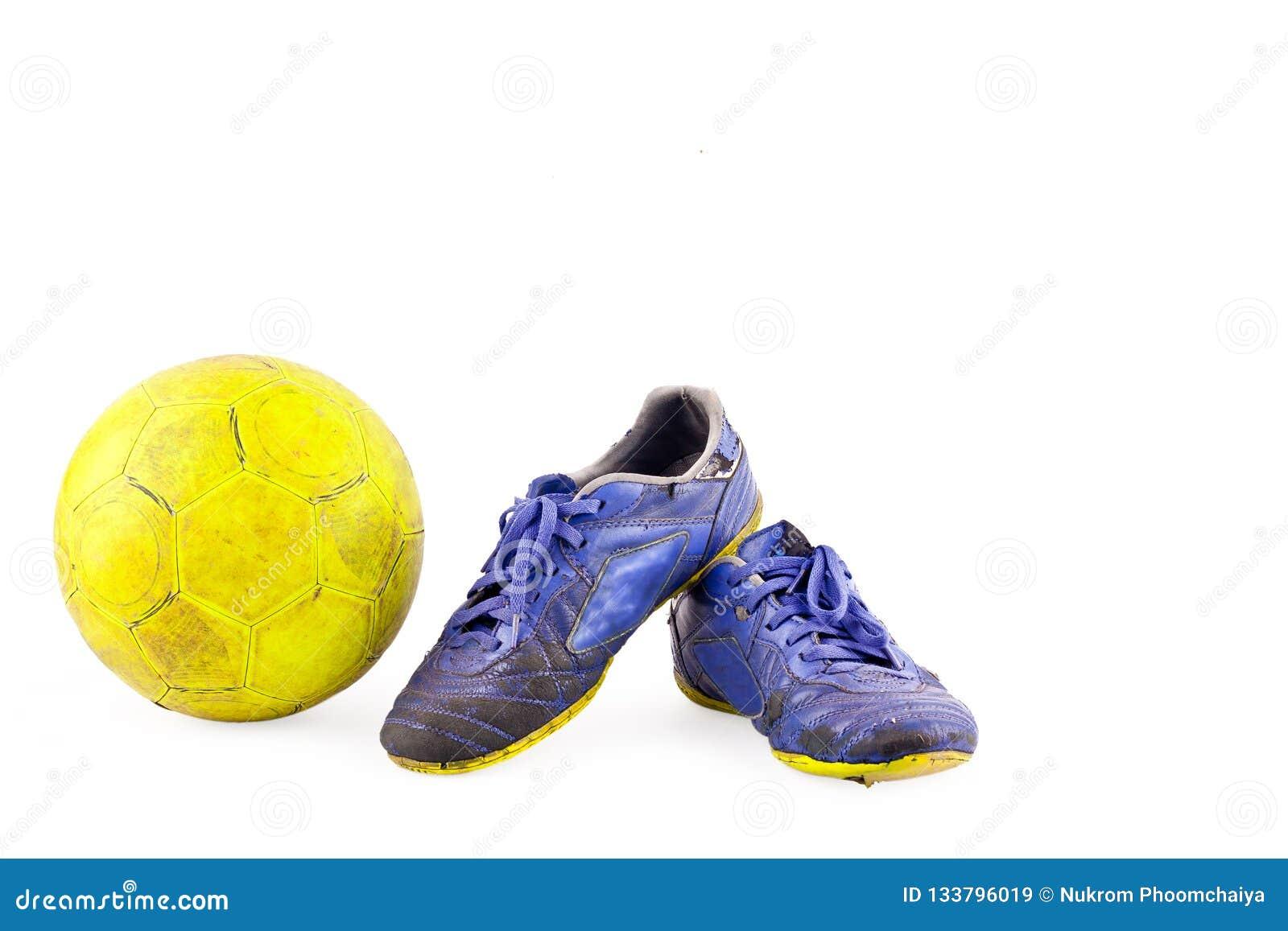 El Futsal Los La Bola Viejo Dañó Deportes Y Vintage De Zapatos ymPv0N8nOw
