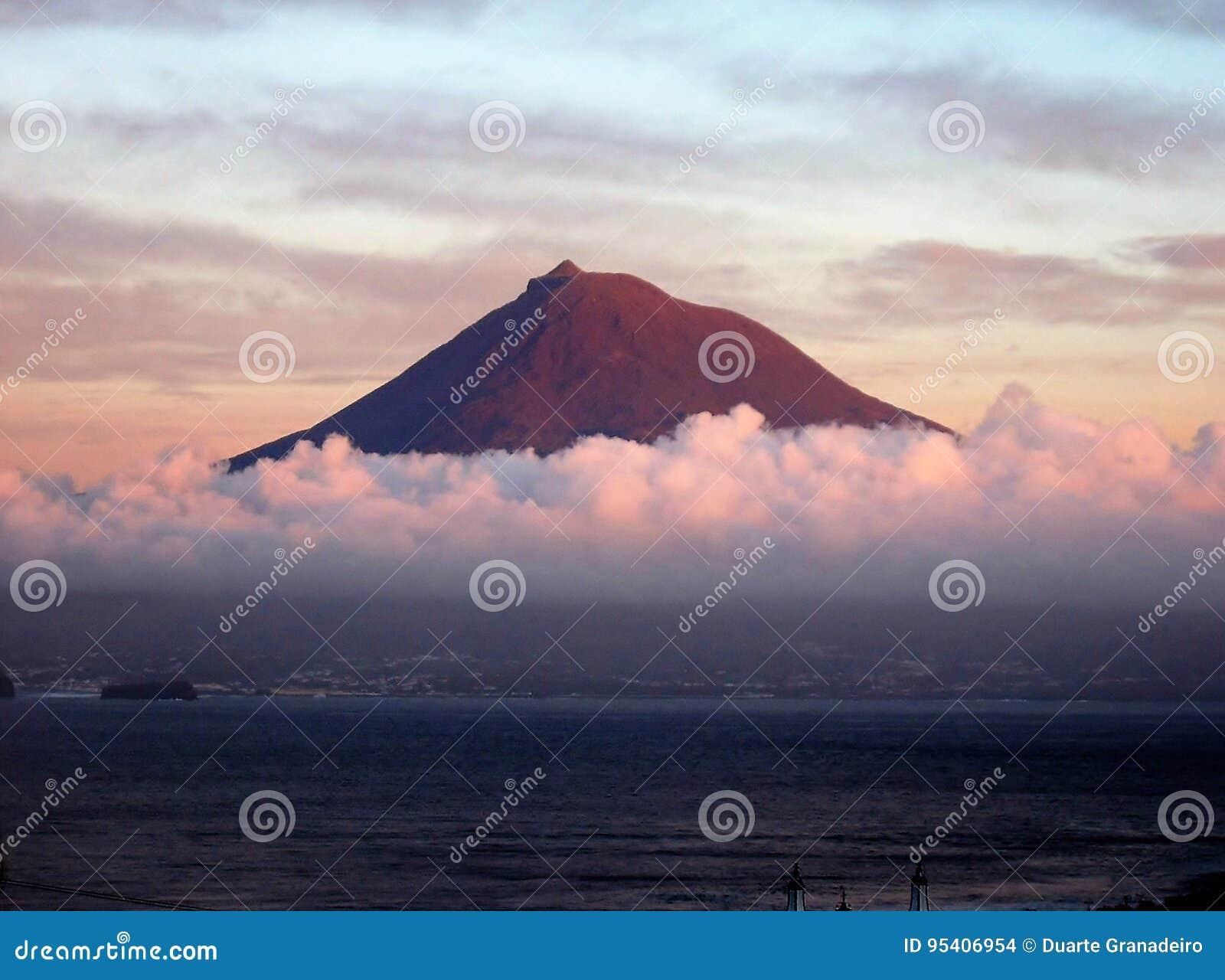 El volcán de Pico