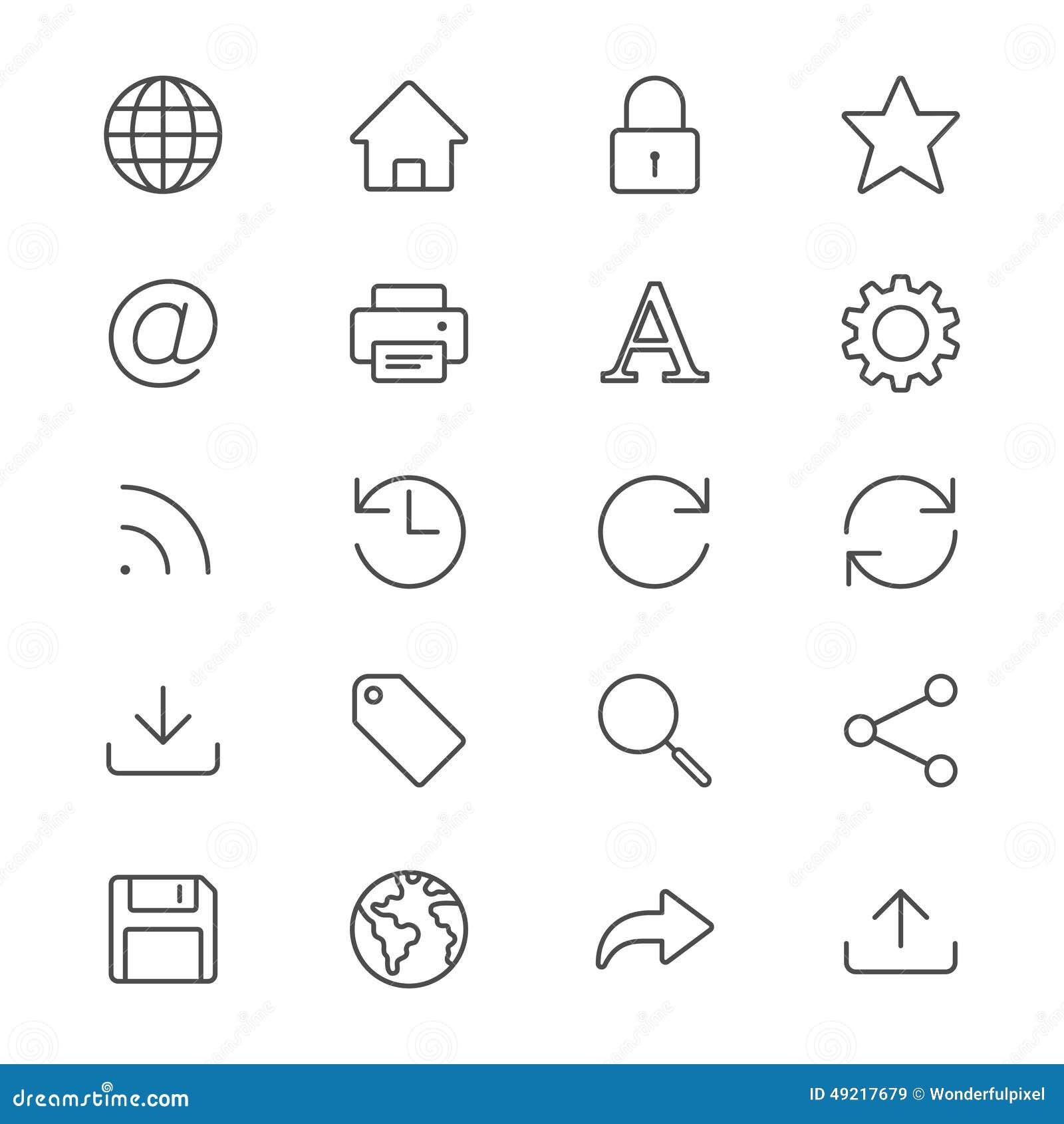 El web enrarece iconos