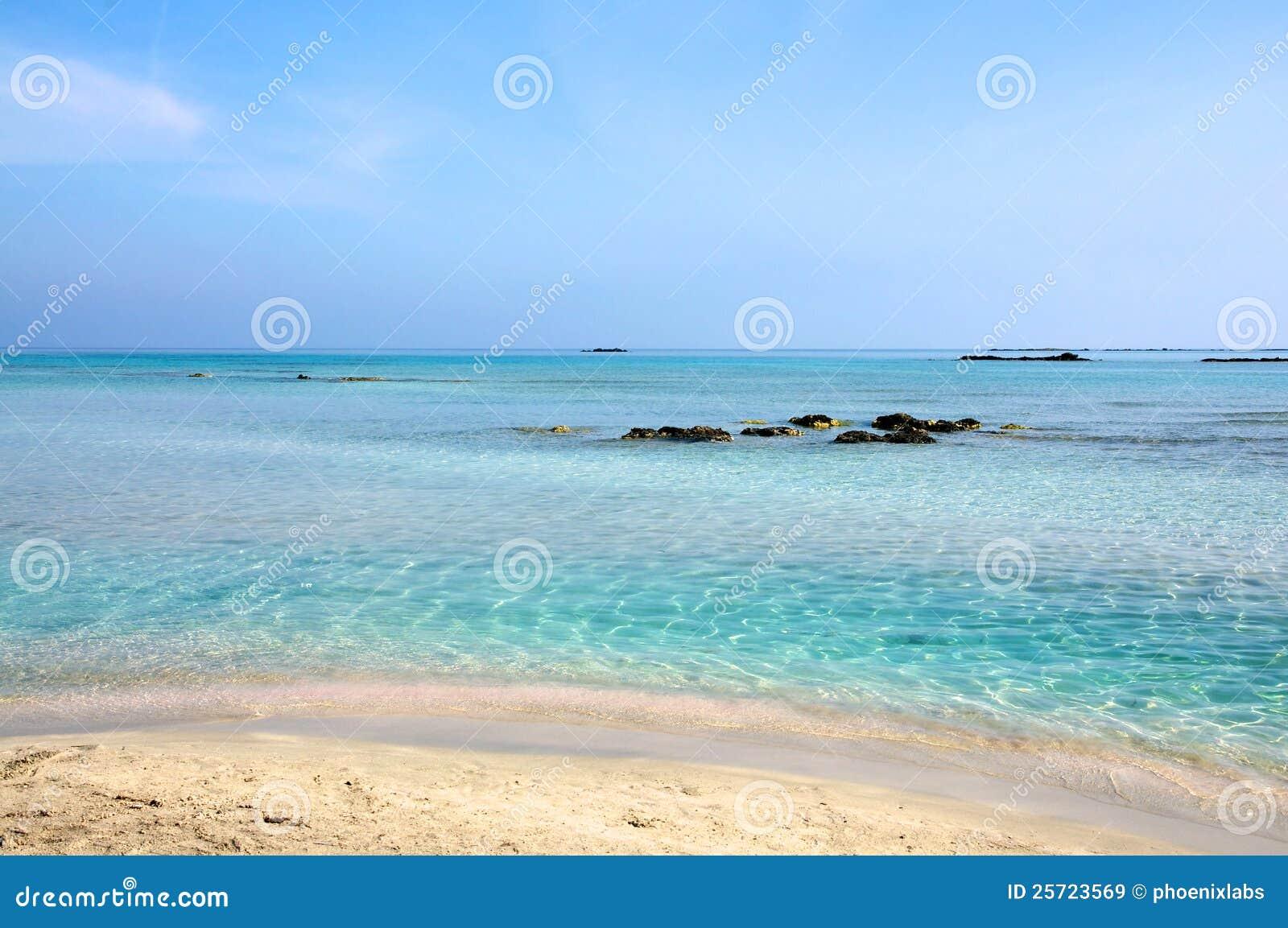 Elafonisi Beach, Crete Royalty Free Stock Images - Image: 25723569