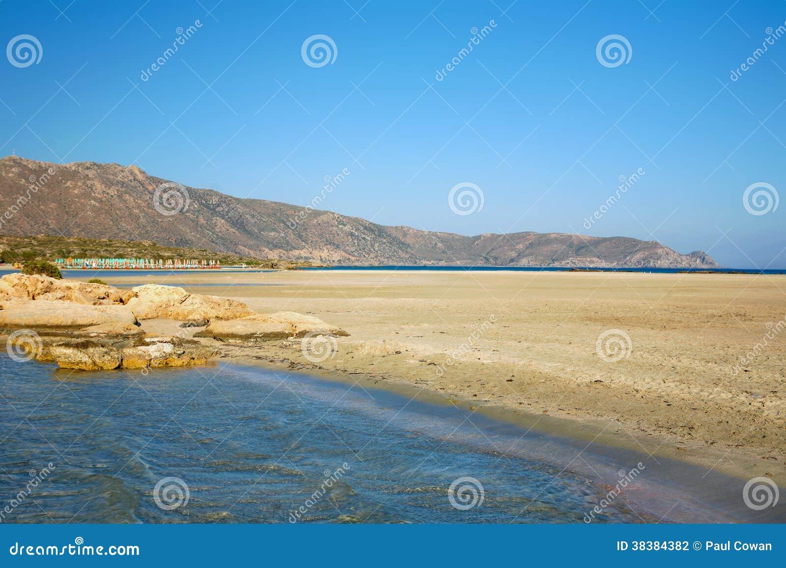 Elafonissos plaża