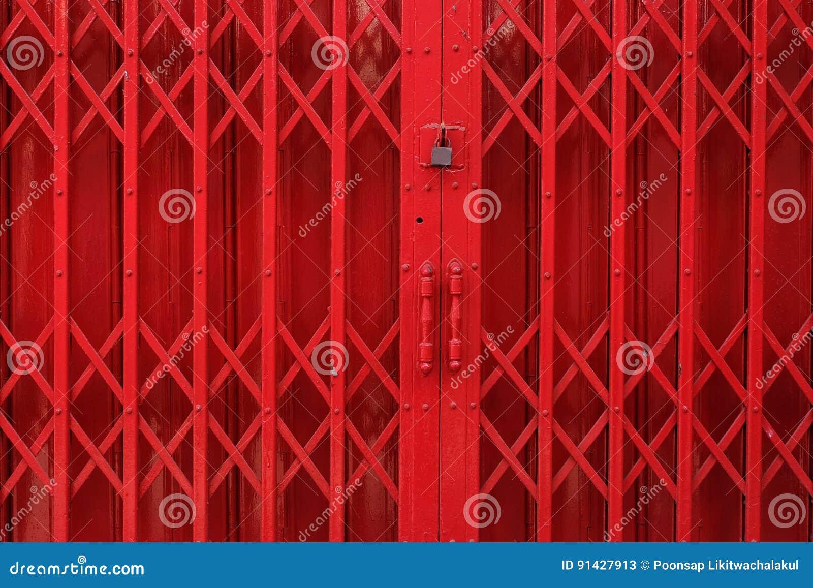 Żelazny drzwi