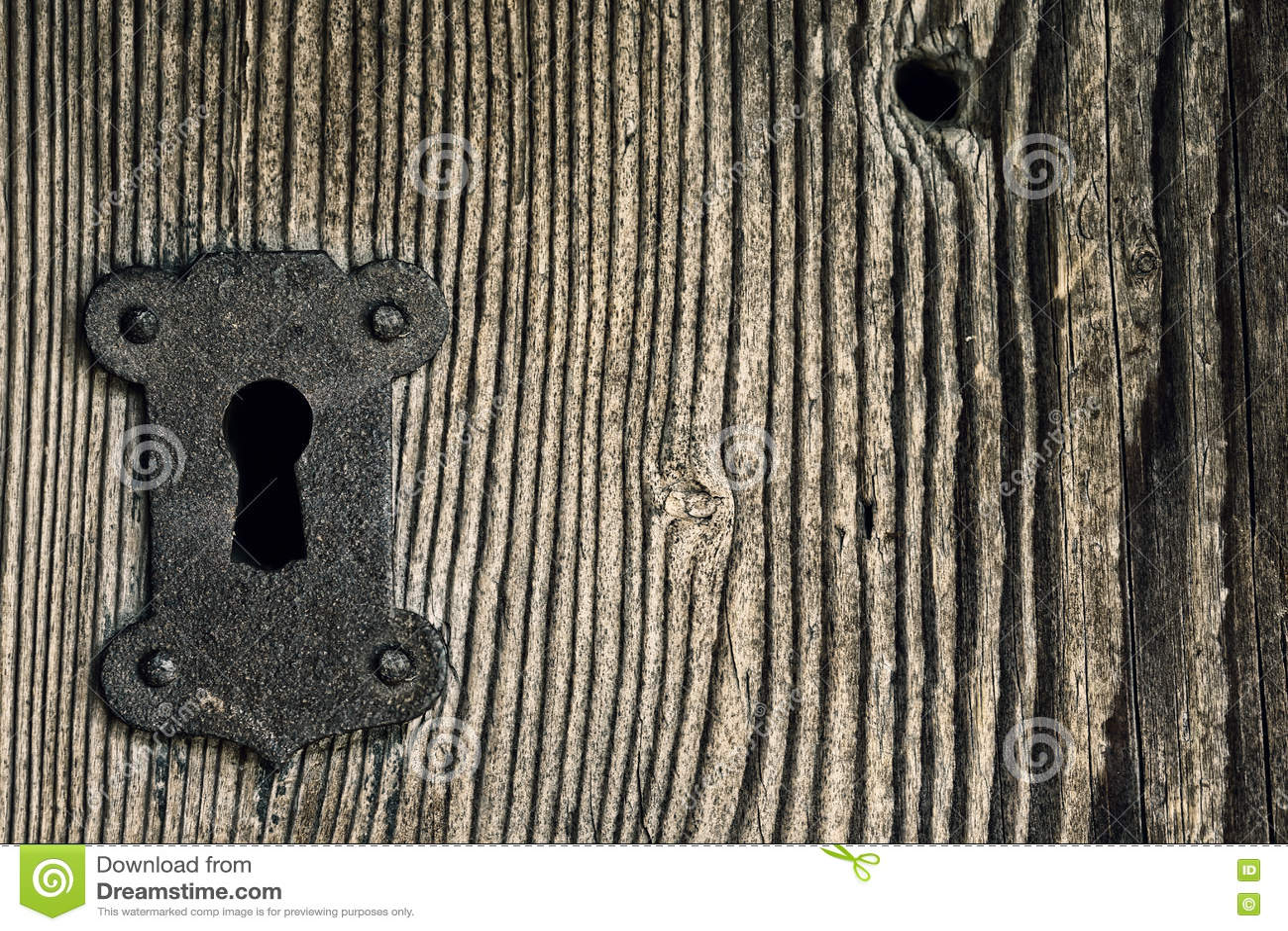 Żelazny keyhole
