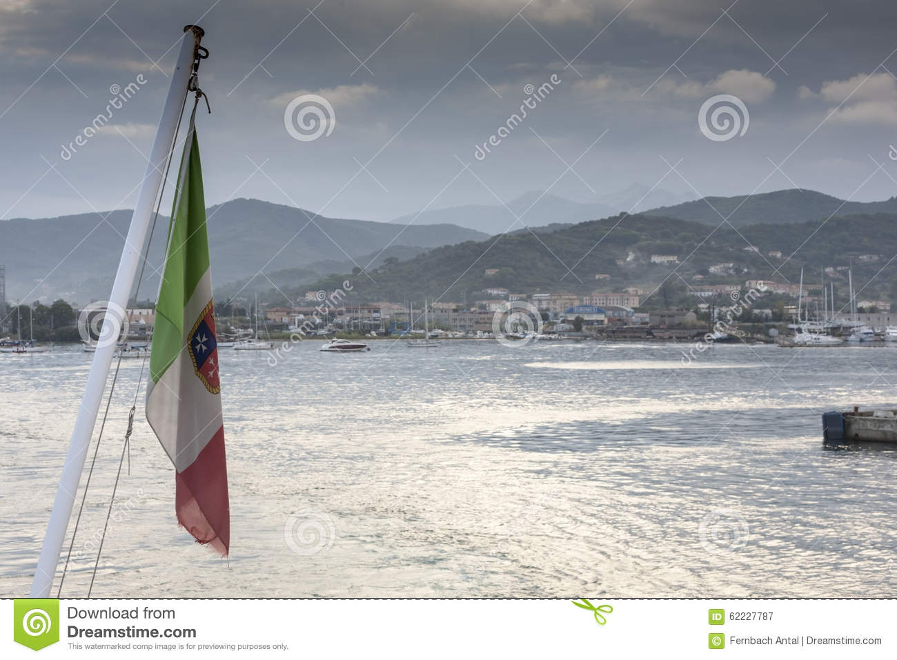Elba Harbor Stock Photo - Image: 60121856