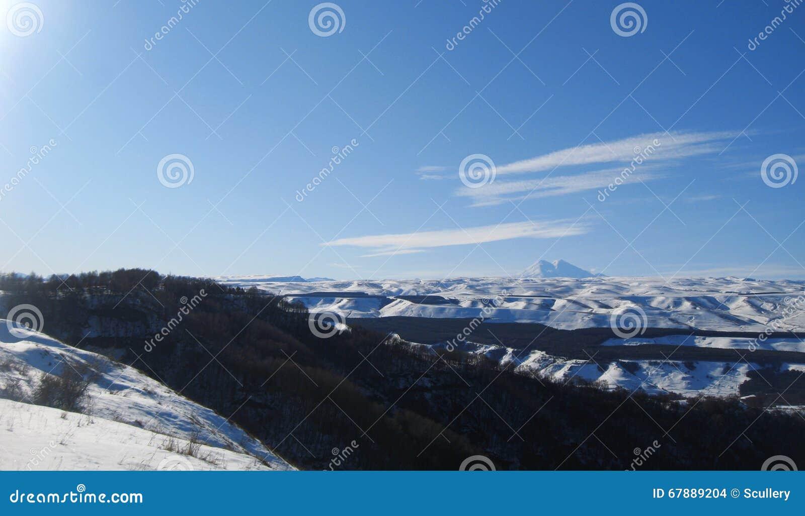 Elbrus山是欧洲高山
