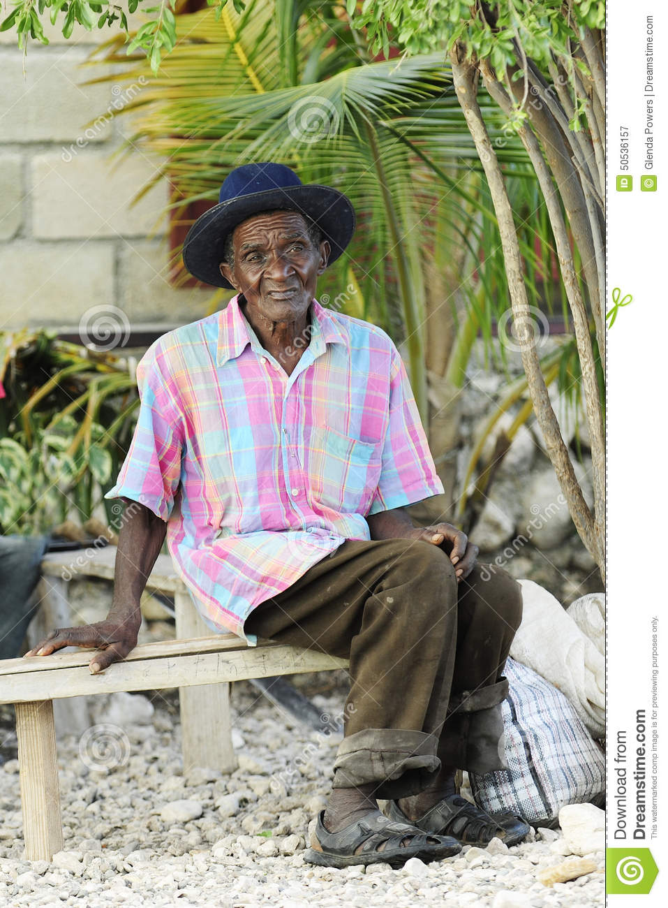 Elderly Bench Sitter Editorial Photography - Image: 50536157
