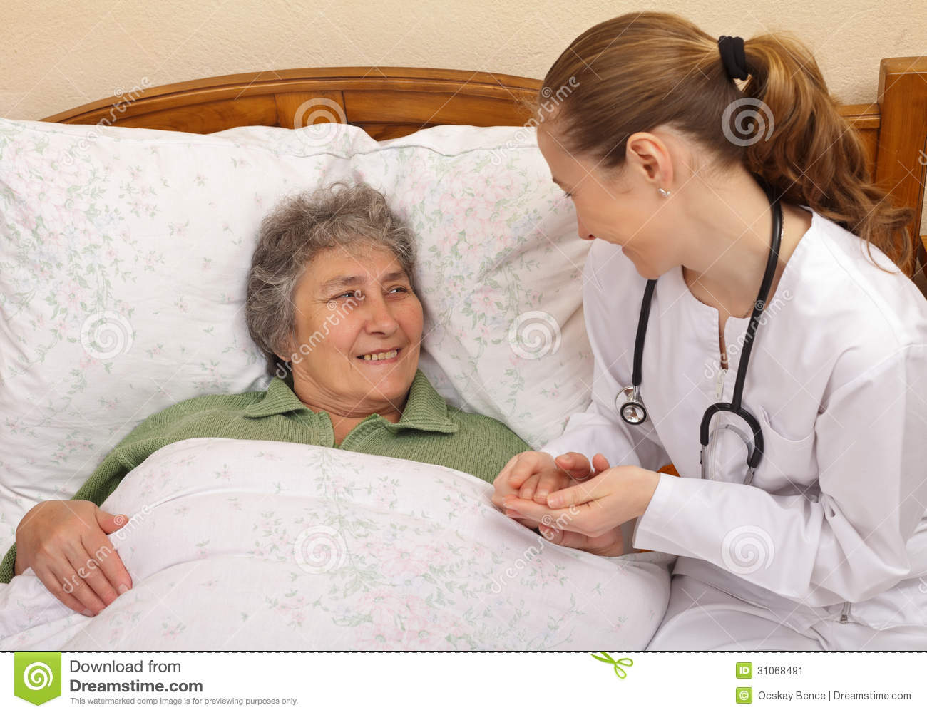 Treating and caring for an ageing population