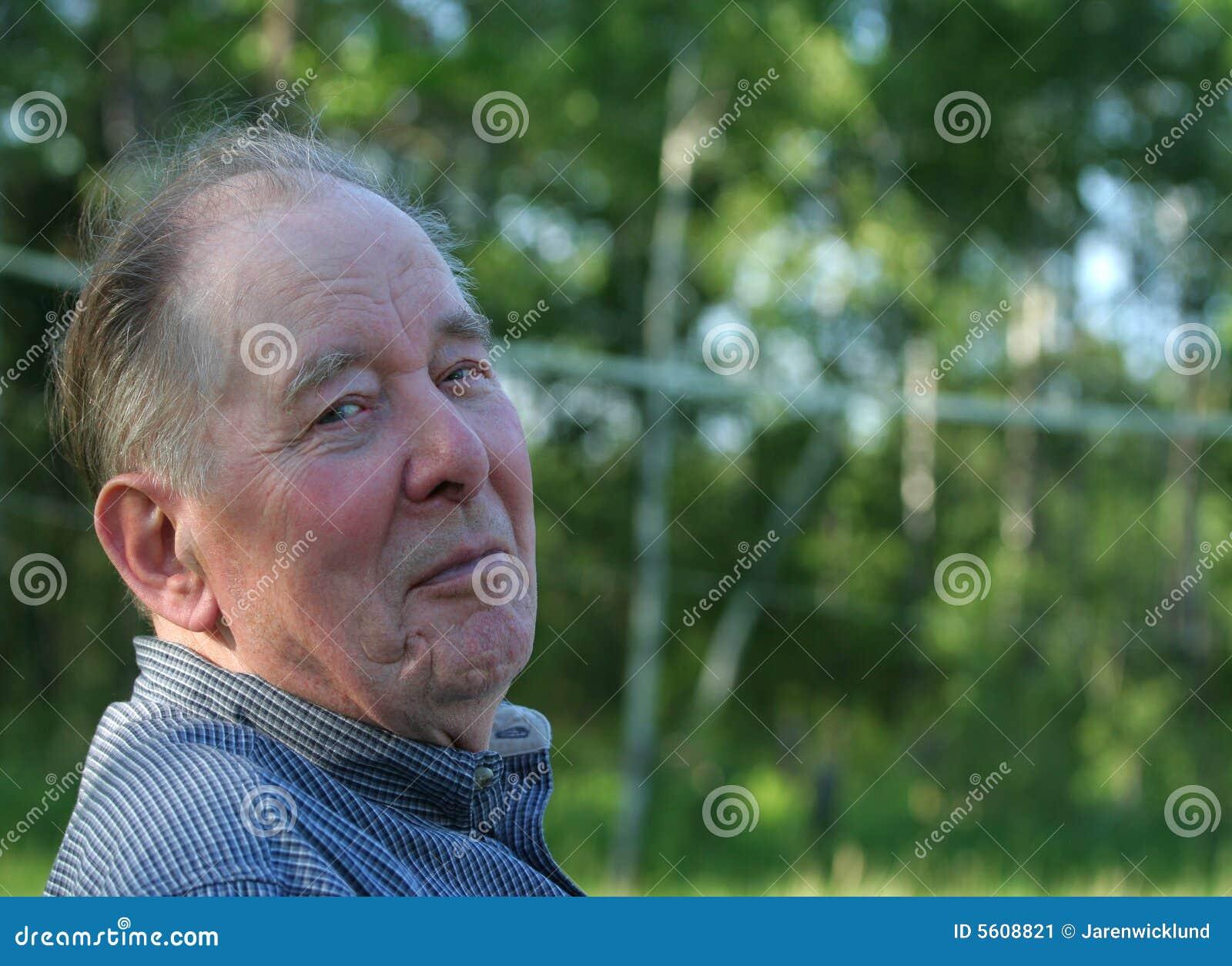 7753004658a Stock Image  Elderly Man Enjoying Outdoors Picture. Image  5608821