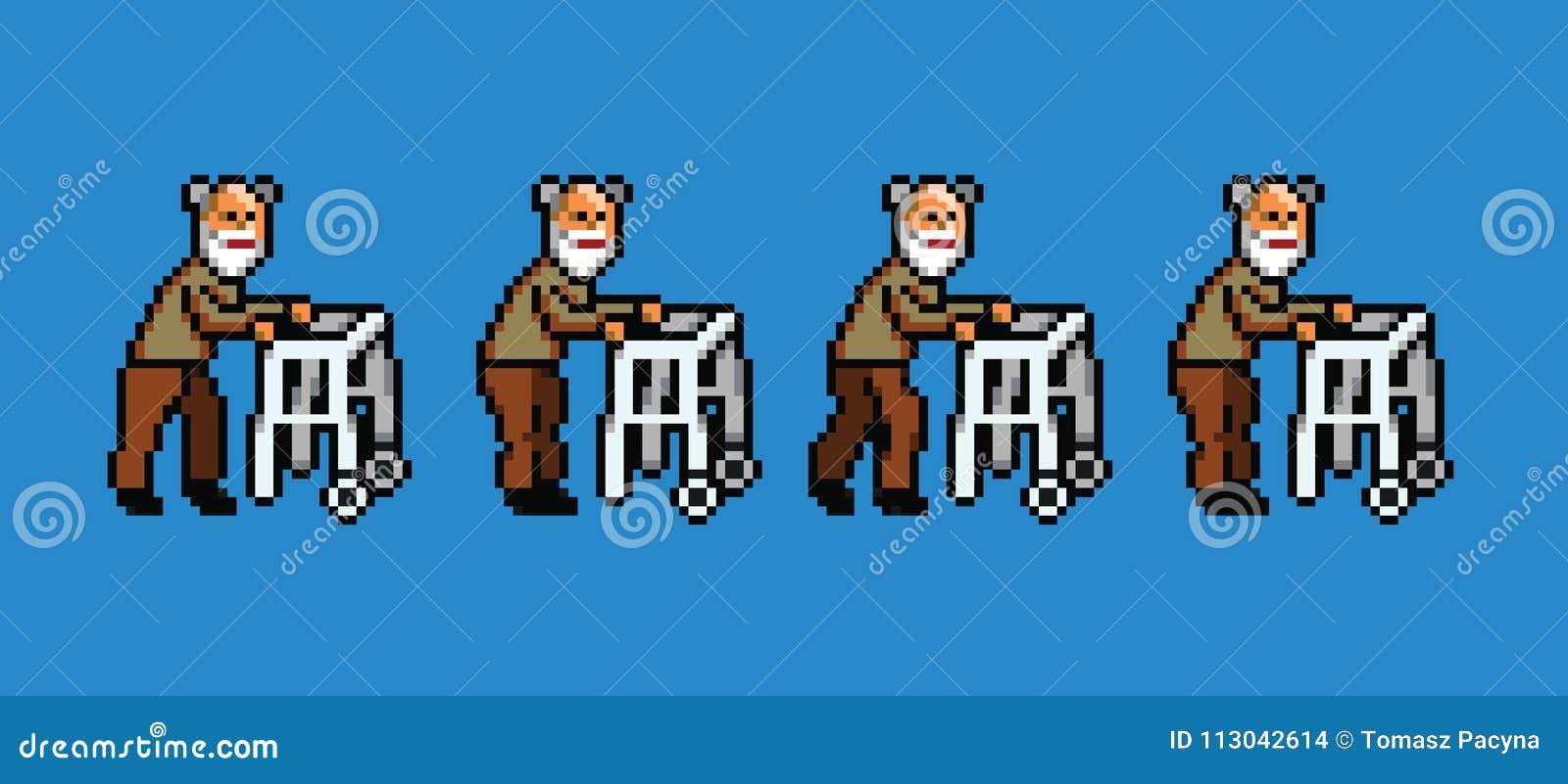 images?q=tbn:ANd9GcQh_l3eQ5xwiPy07kGEXjmjgmBKBRB7H2mRxCGhv1tFWg5c_mWT Pixel Art Walking Animation @koolgadgetz.com.info