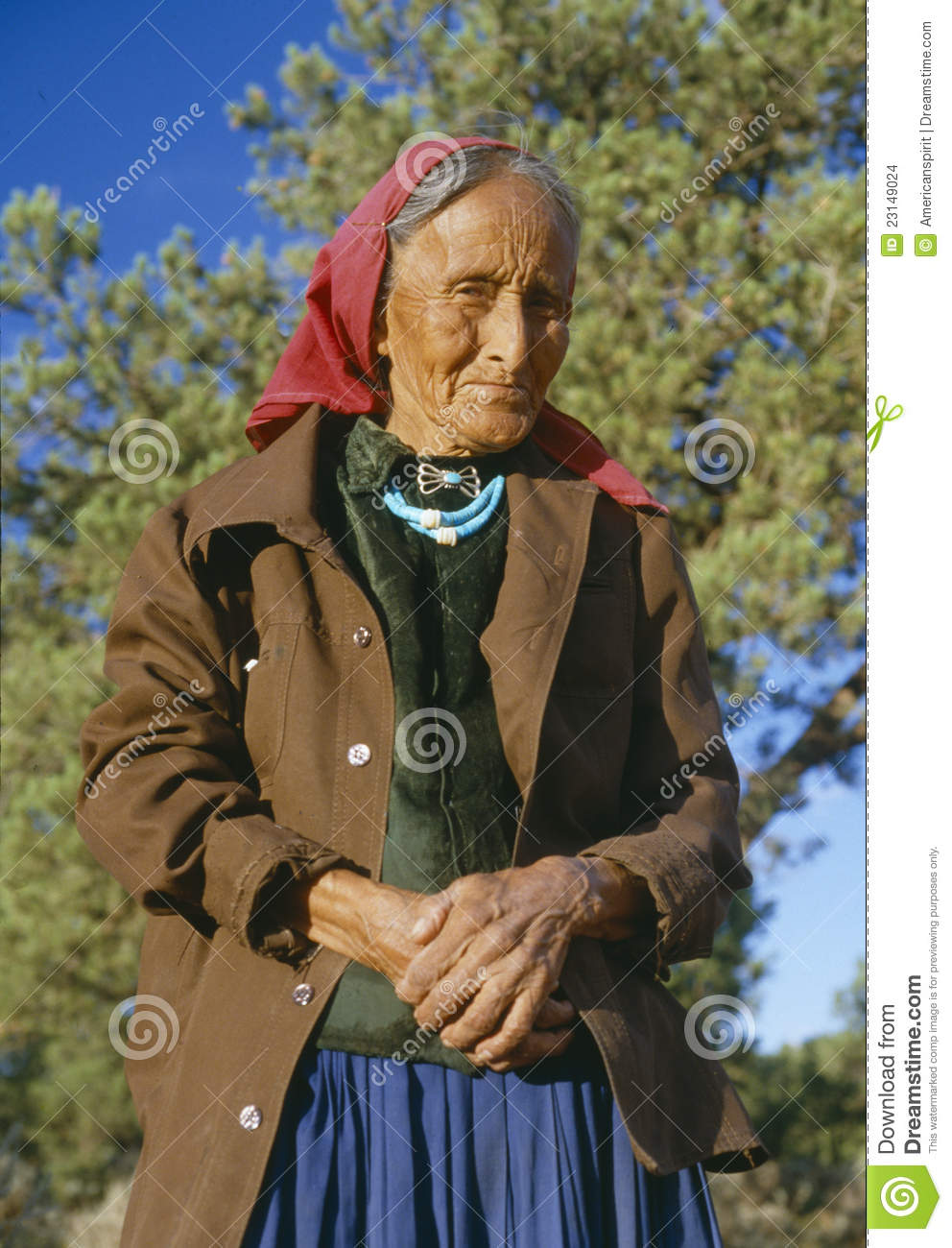 Mature navajo women