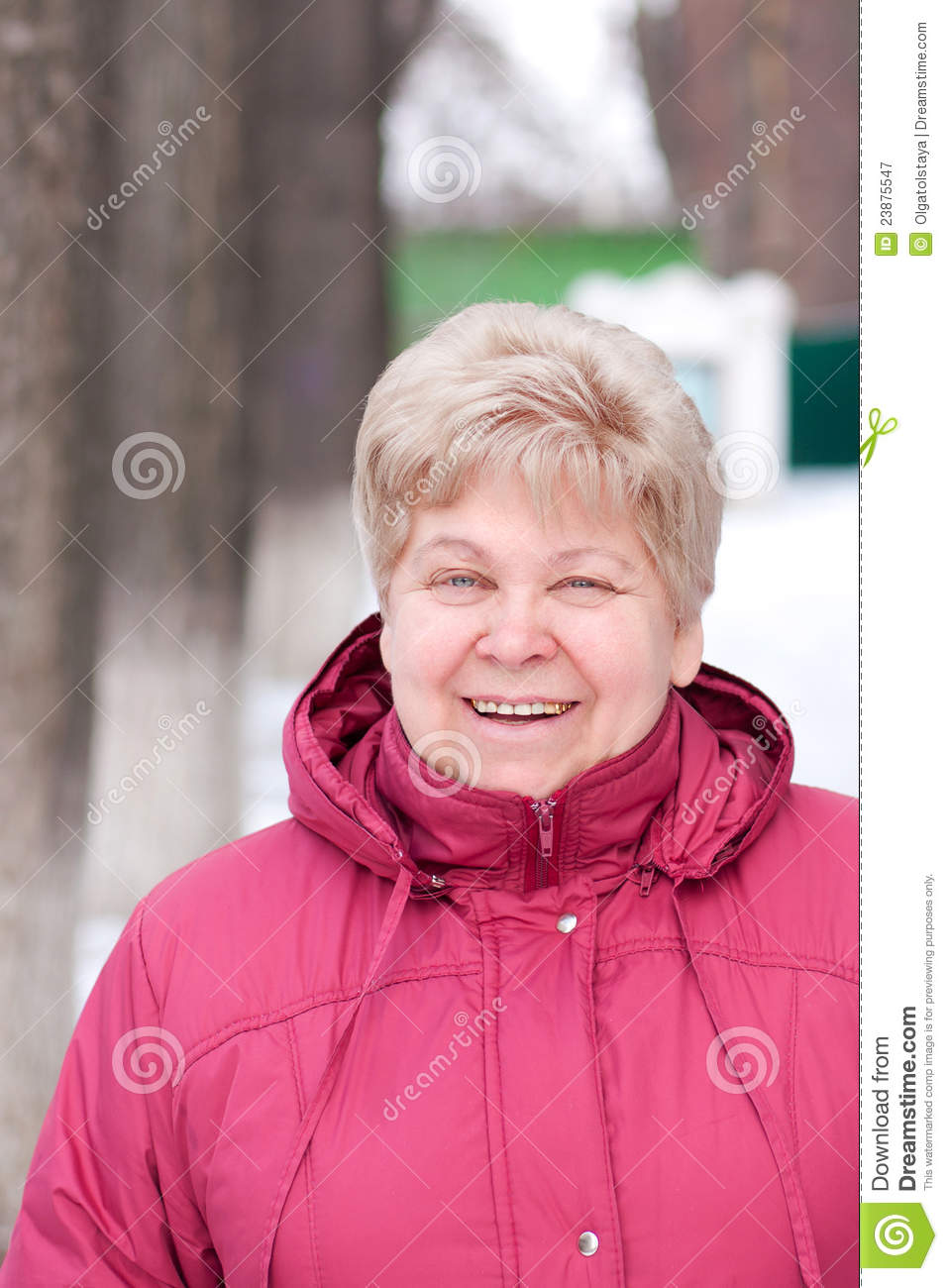 Download An elderly woman stock image. Image of laugh, face, eyes - 23875547