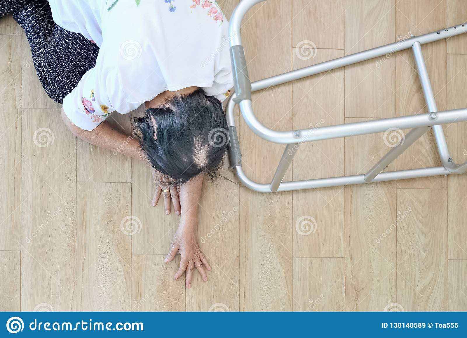 elderly woman falling down at home hearth attack stock image rh dreamstime com down at home with the neelys home depot downspout