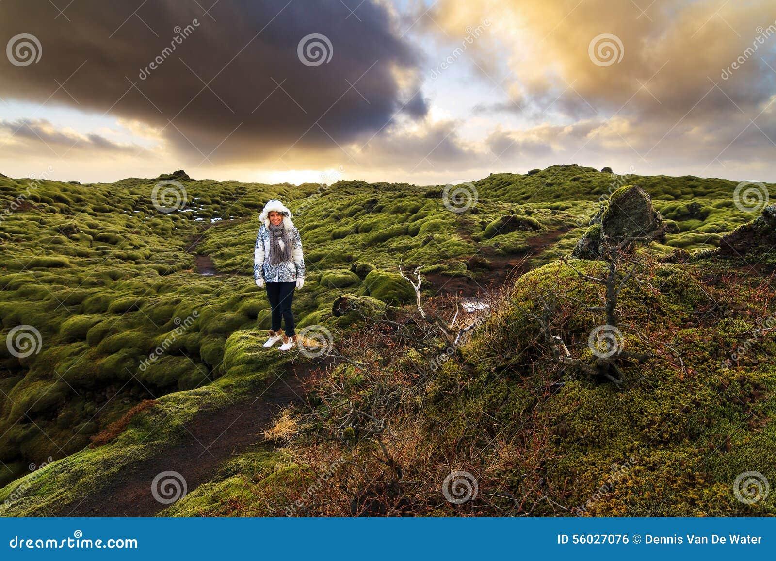 Eldhraun旅游业冰岛