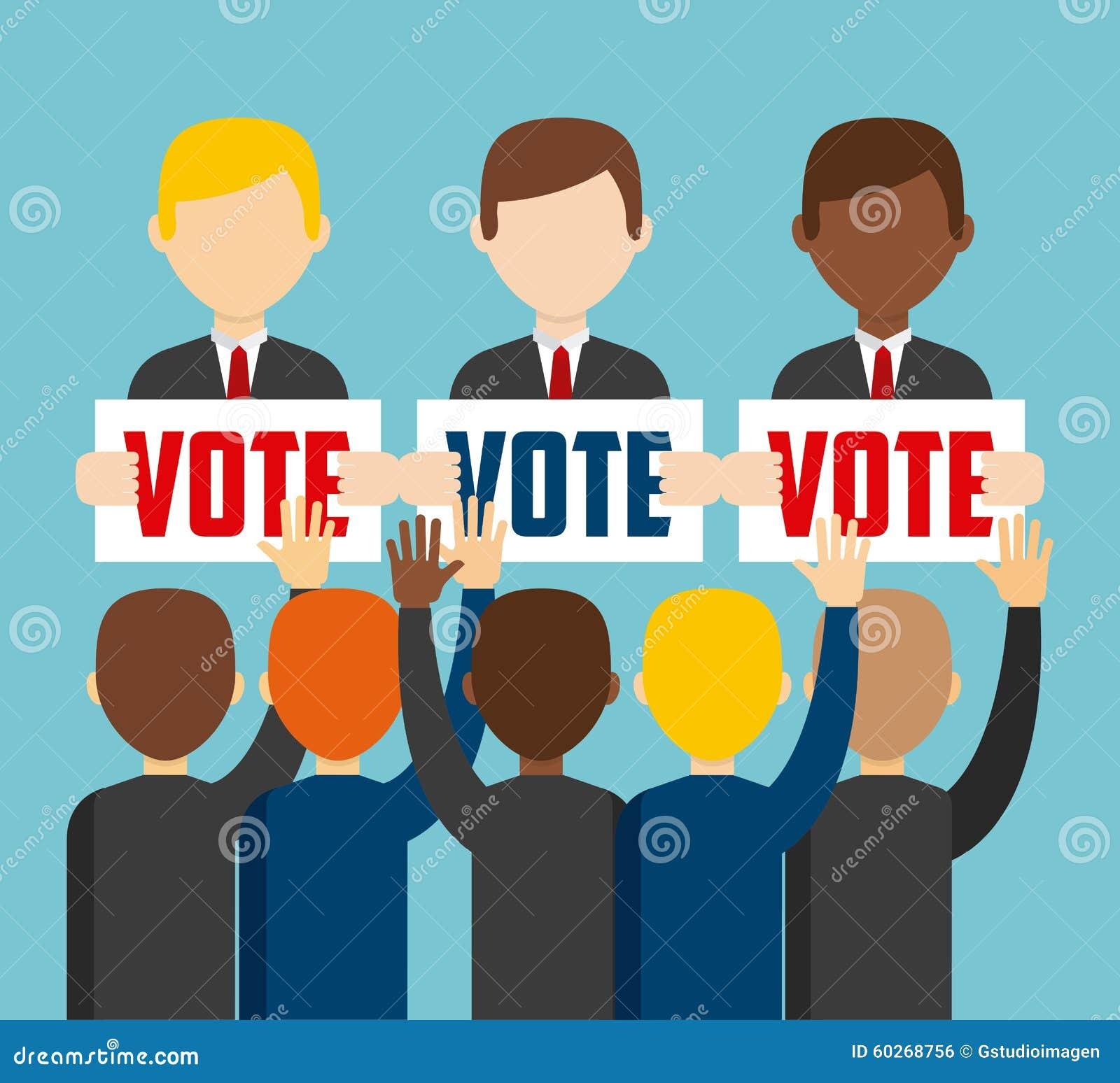 Elecciones democr ticas ilustraci n del vector Que significa contemporaneo wikipedia