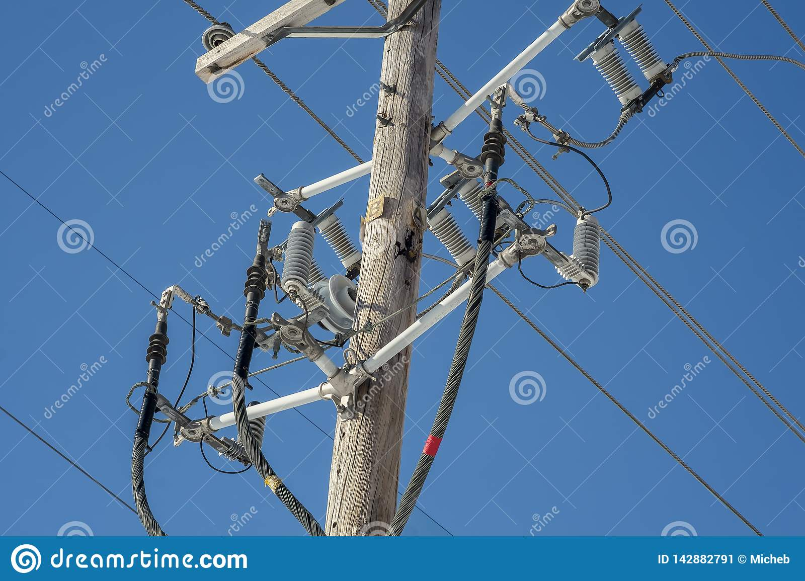 Awesome Elecrical Wires And Devices Stock Image Image Of Erect Electrical Wiring Digital Resources Antuskbiperorg