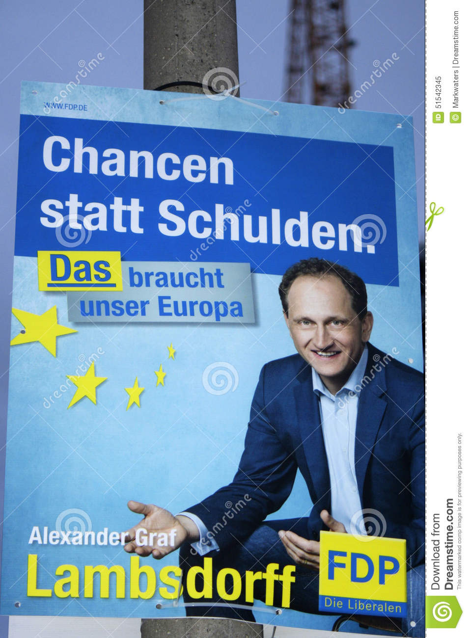 Election Poster Editorial Image - Image: 51542345