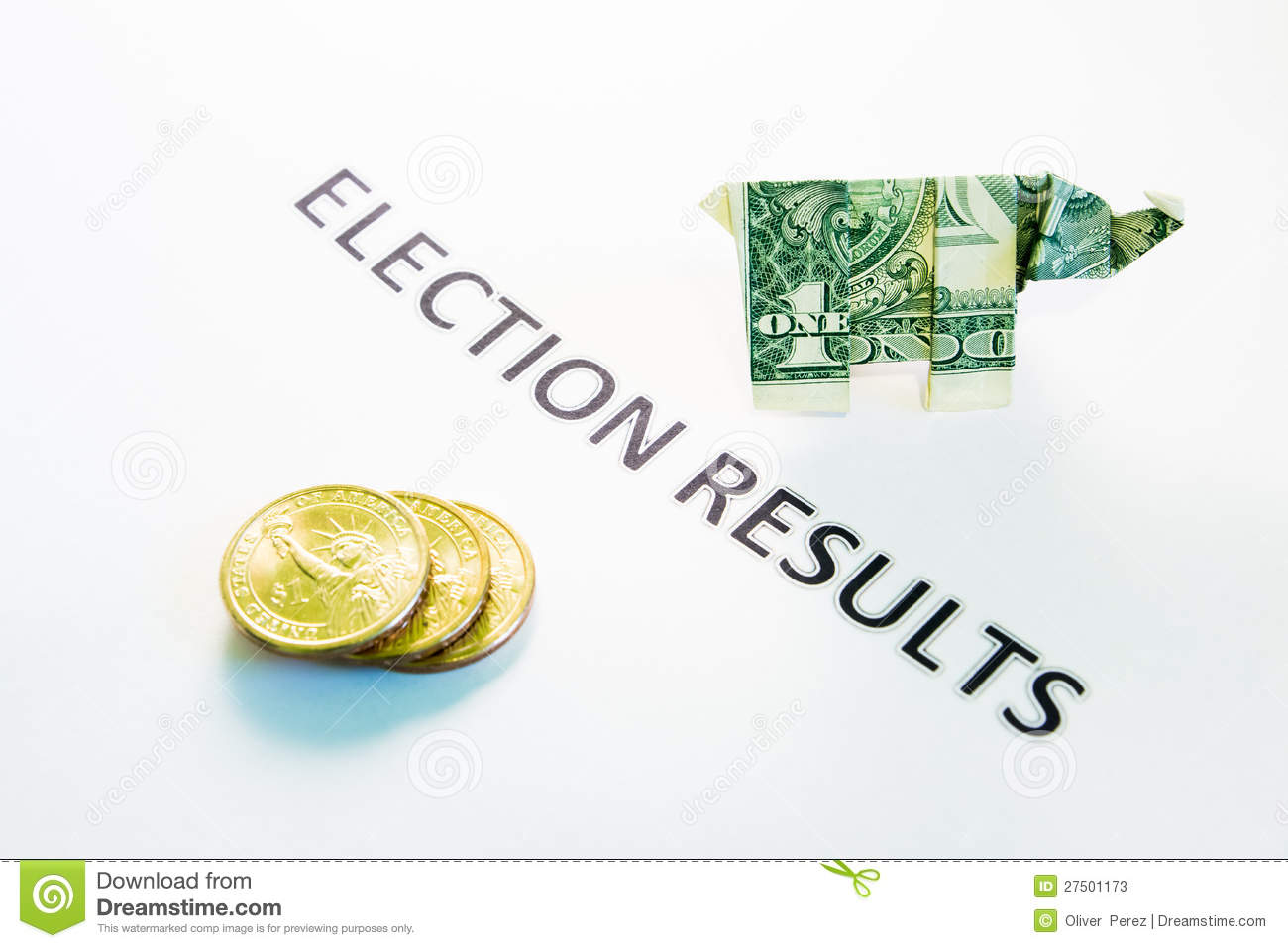 election results stock photos   image 27501173