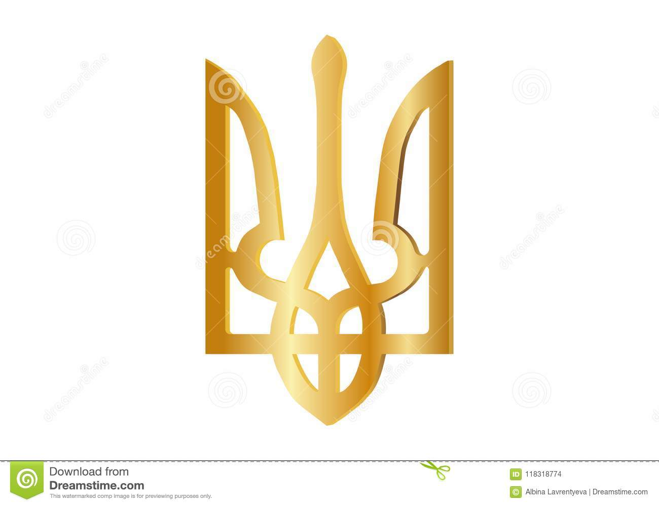 Elections in Ukraine. Traditional Ukrainian style. State Symbols. Vector