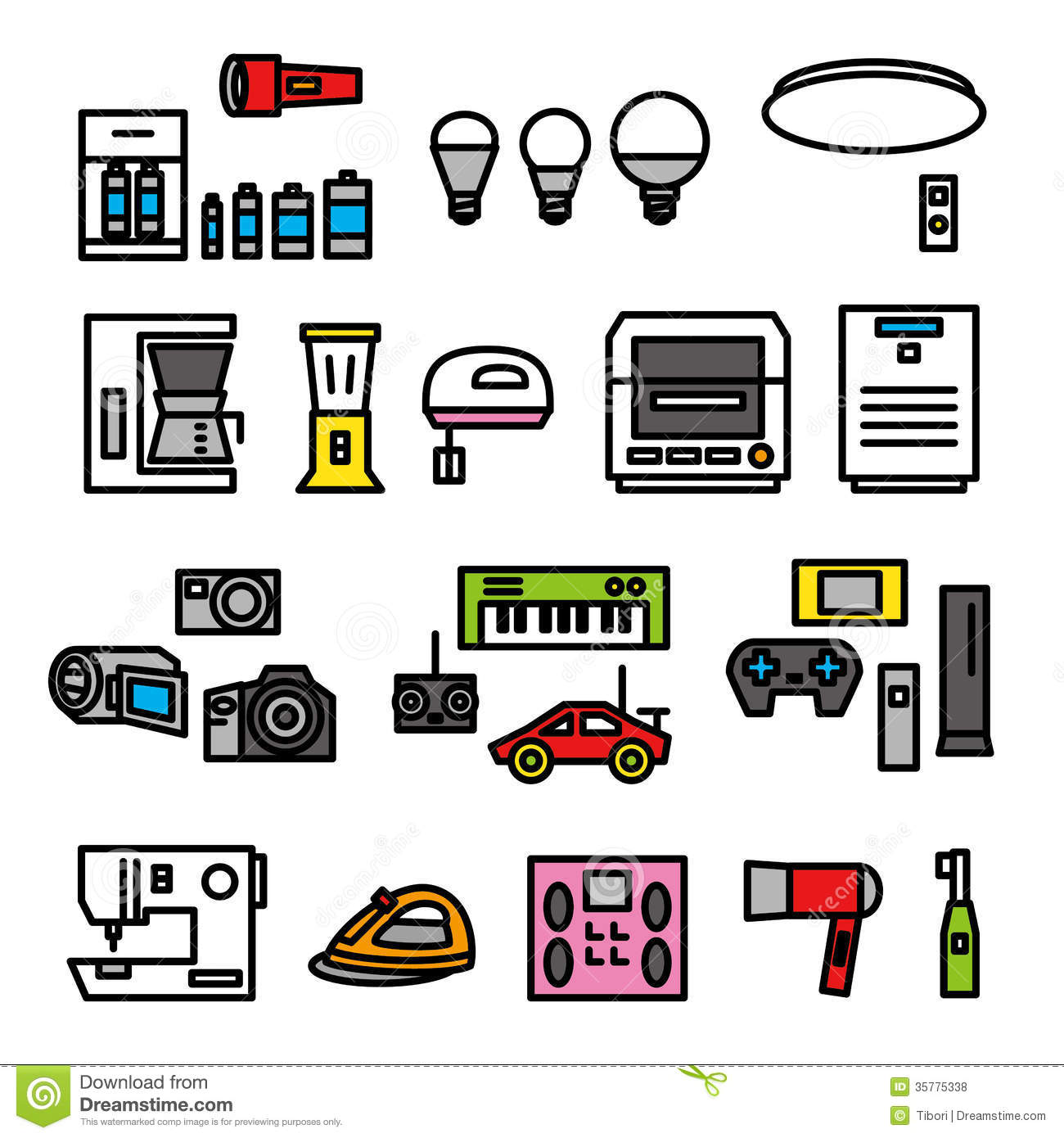 Electric Appliances 02 Royalty Free Stock Photos Image