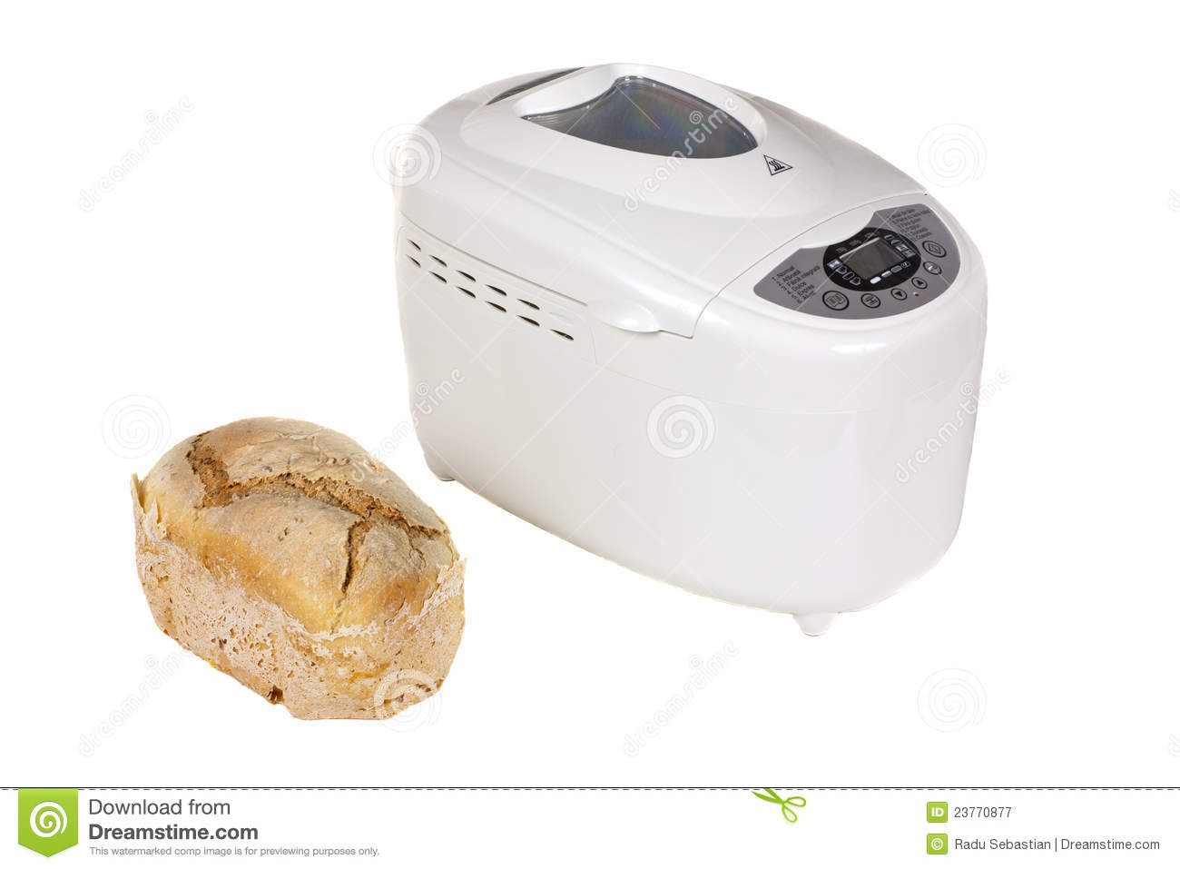 Mr Coffee Bread Maker Recipes : Electric Bread Maker Royalty Free Stock Photography - Image: 23770877