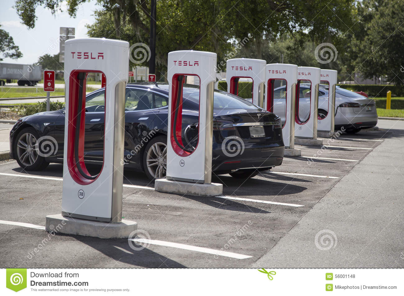 Electric Car Charging Stations Stock