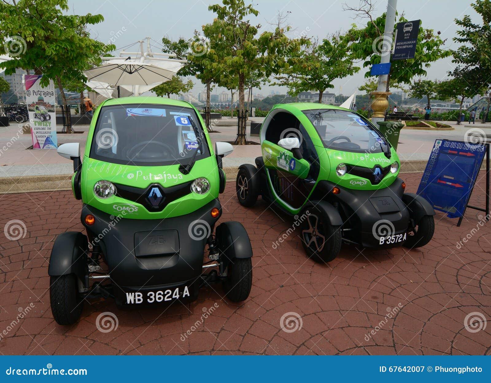 Electric Cars For Tourist In Putrajaya Malaysia Editorial