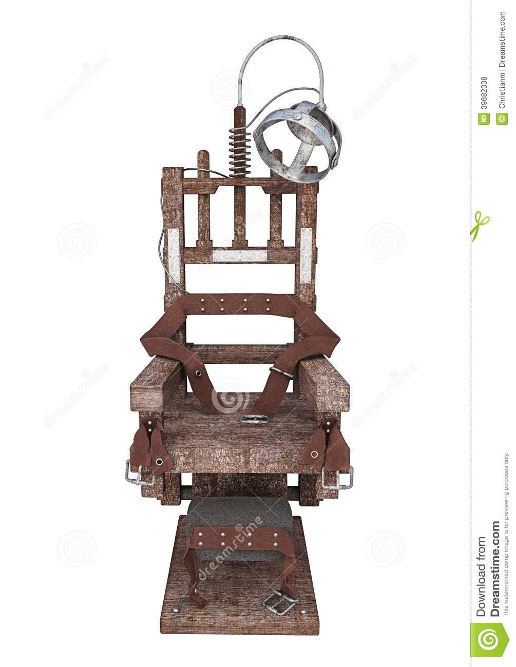Electric chair stock illustration image 39682338 for Chaise electrique
