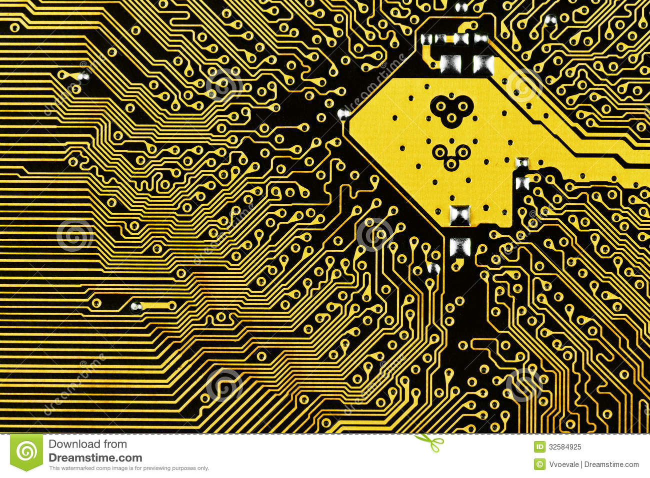 Electric Circuit Board Stock Image Of Abstract 32584925 Up Background Close