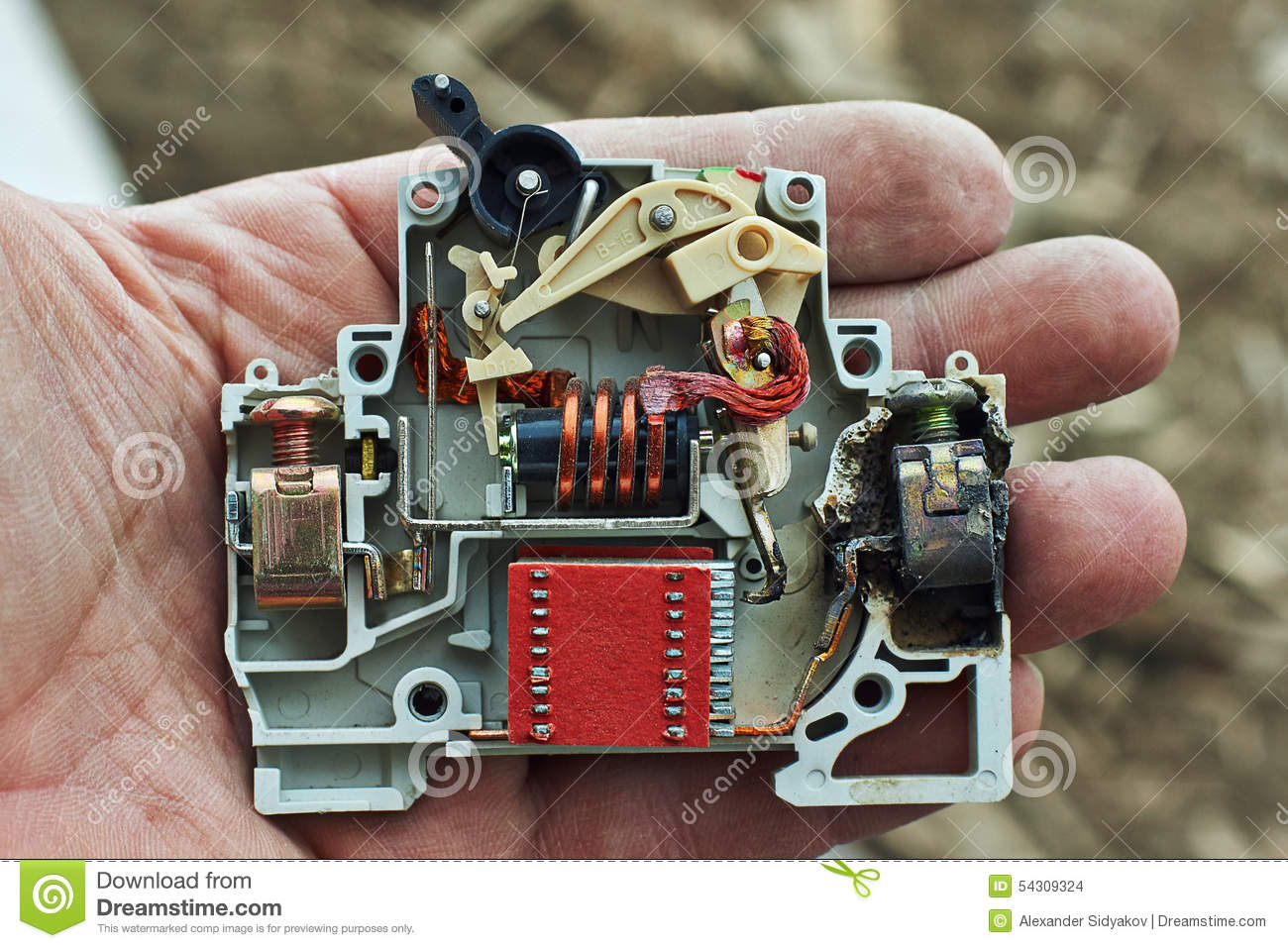 Unusual Jem Wiring Diagram Huge 5 Way Switch Square Viper Remote Start Wiring 5 Way Rotary Switch Wiring Diagram Young How To Wire Guitar Pickups White3 Pickup Guitar Electric Circuit Breaker Overload Burned. Stock Photo   Image ..
