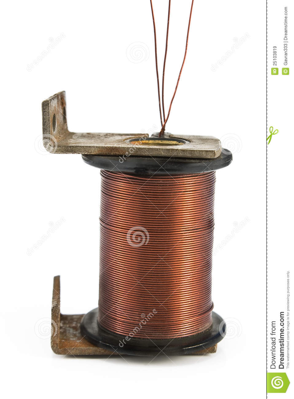 Electric Coil Motor Royalty Free Stock Images - Image: 25103819