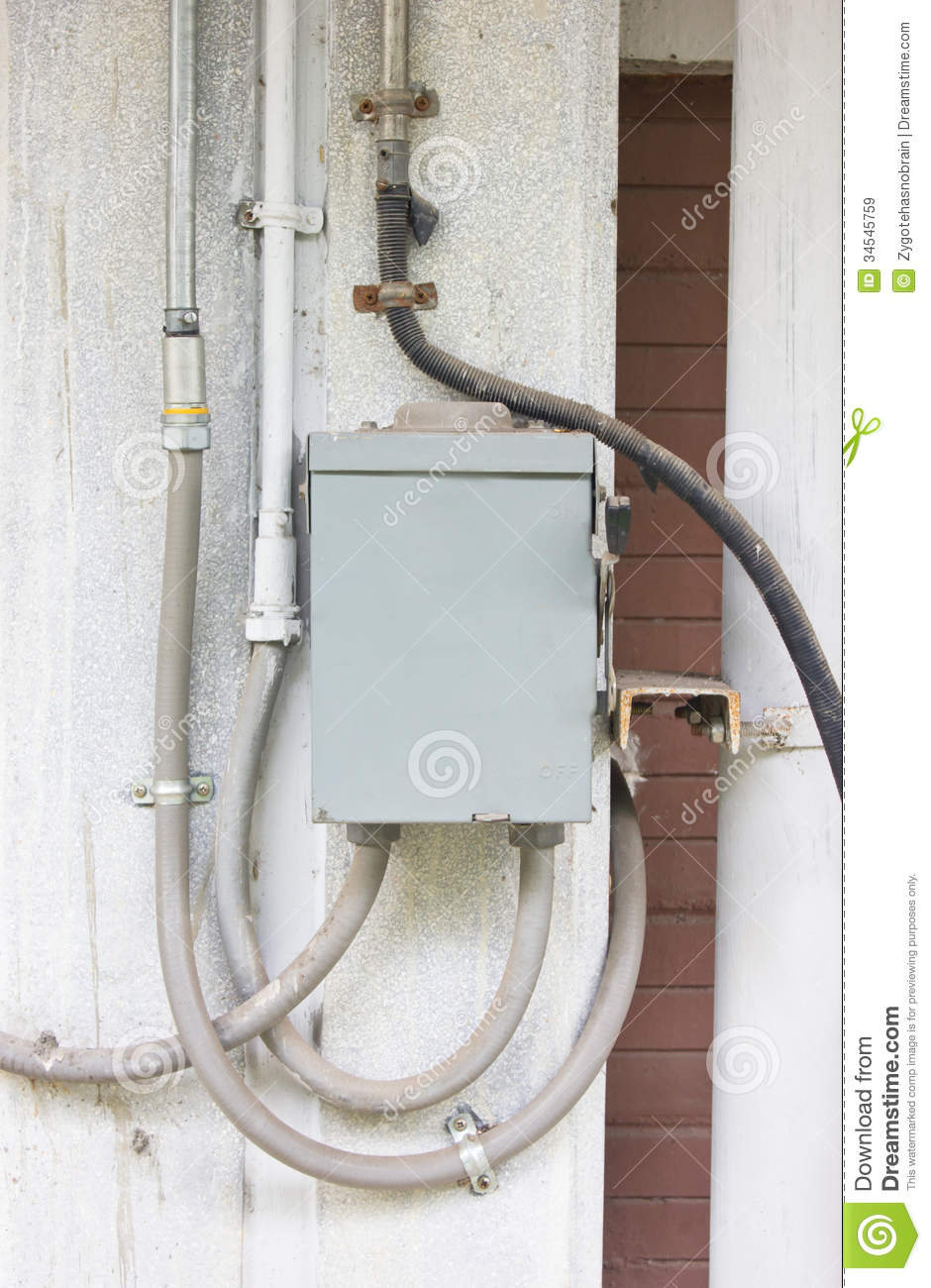 Electric control box royalty free stock images image for Motorized outside air damper