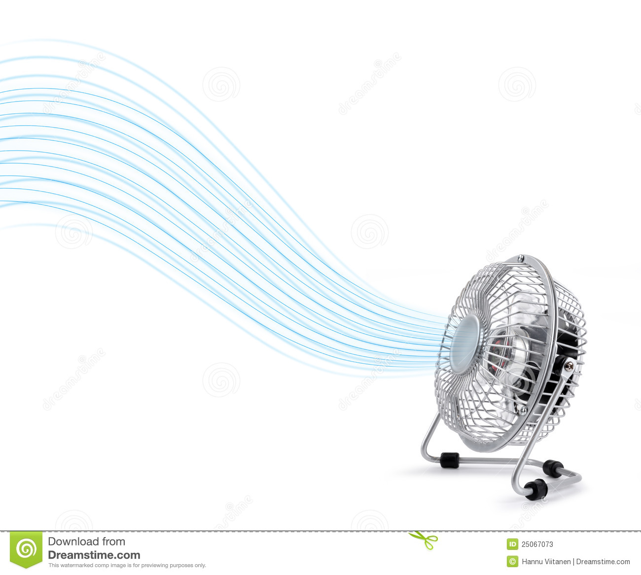 Electric Cooler Fan Blowing Fresh Air Stock Photos Image: 25067073 #85A823