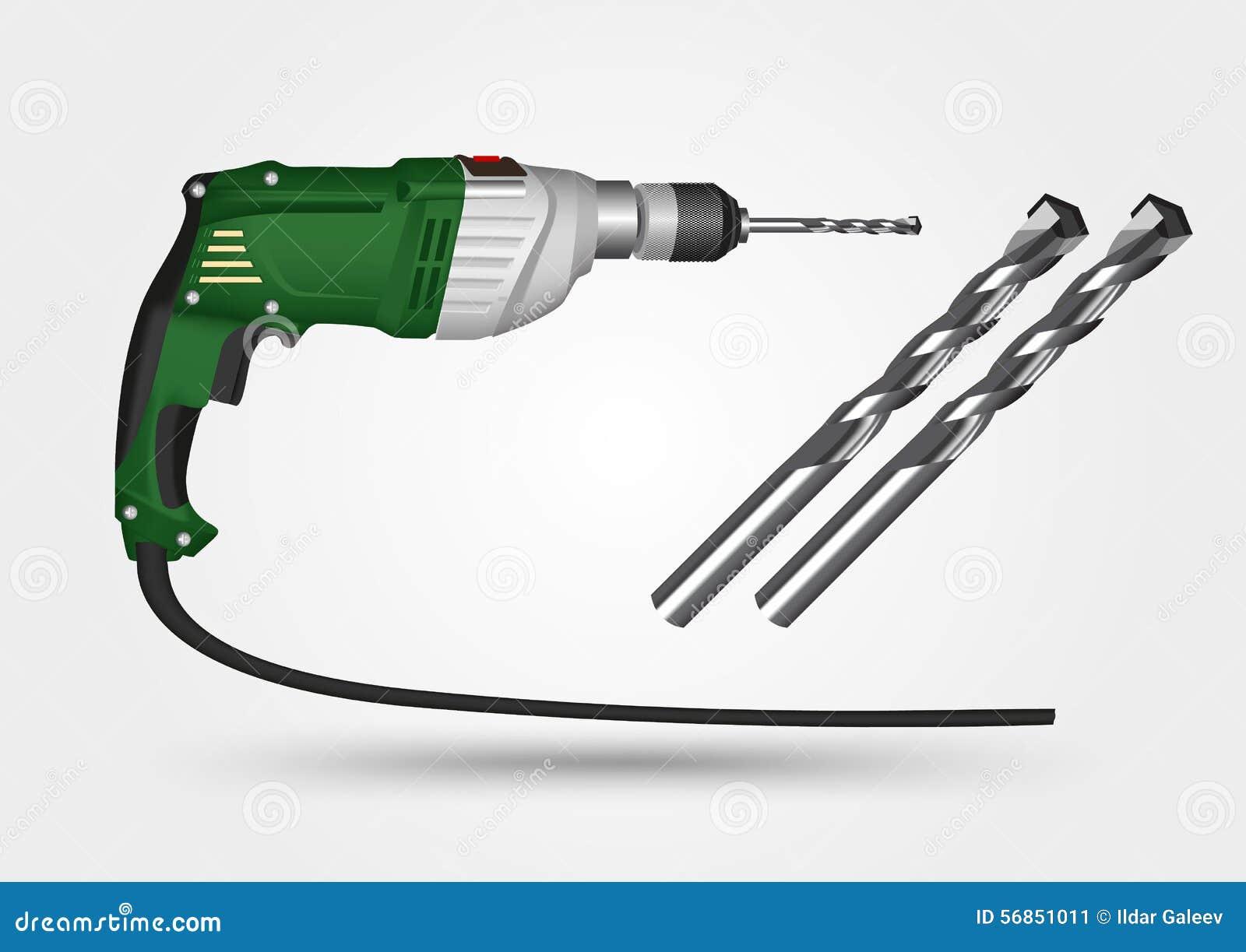 Drill Bit Illustration