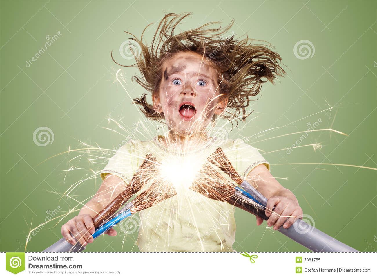 Electric Failure Royalty Free Stock Photo Image 7881755