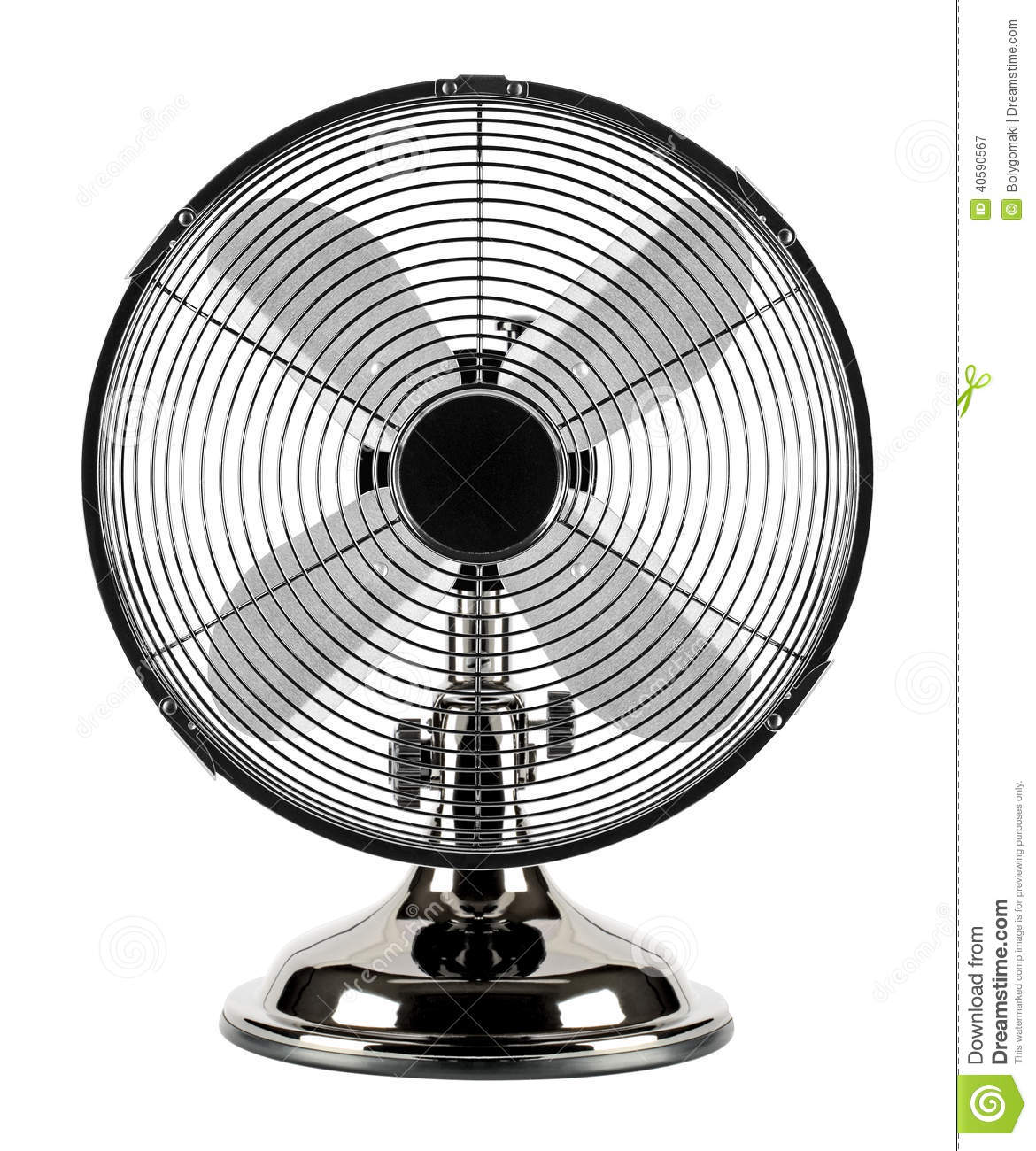 Electric fan stock image. Image of heat, rotary, electric - 40590567