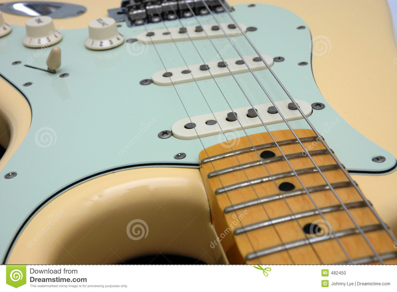 Electric Guitar Closeup 3 Stock Photo Image Of Electric 482450