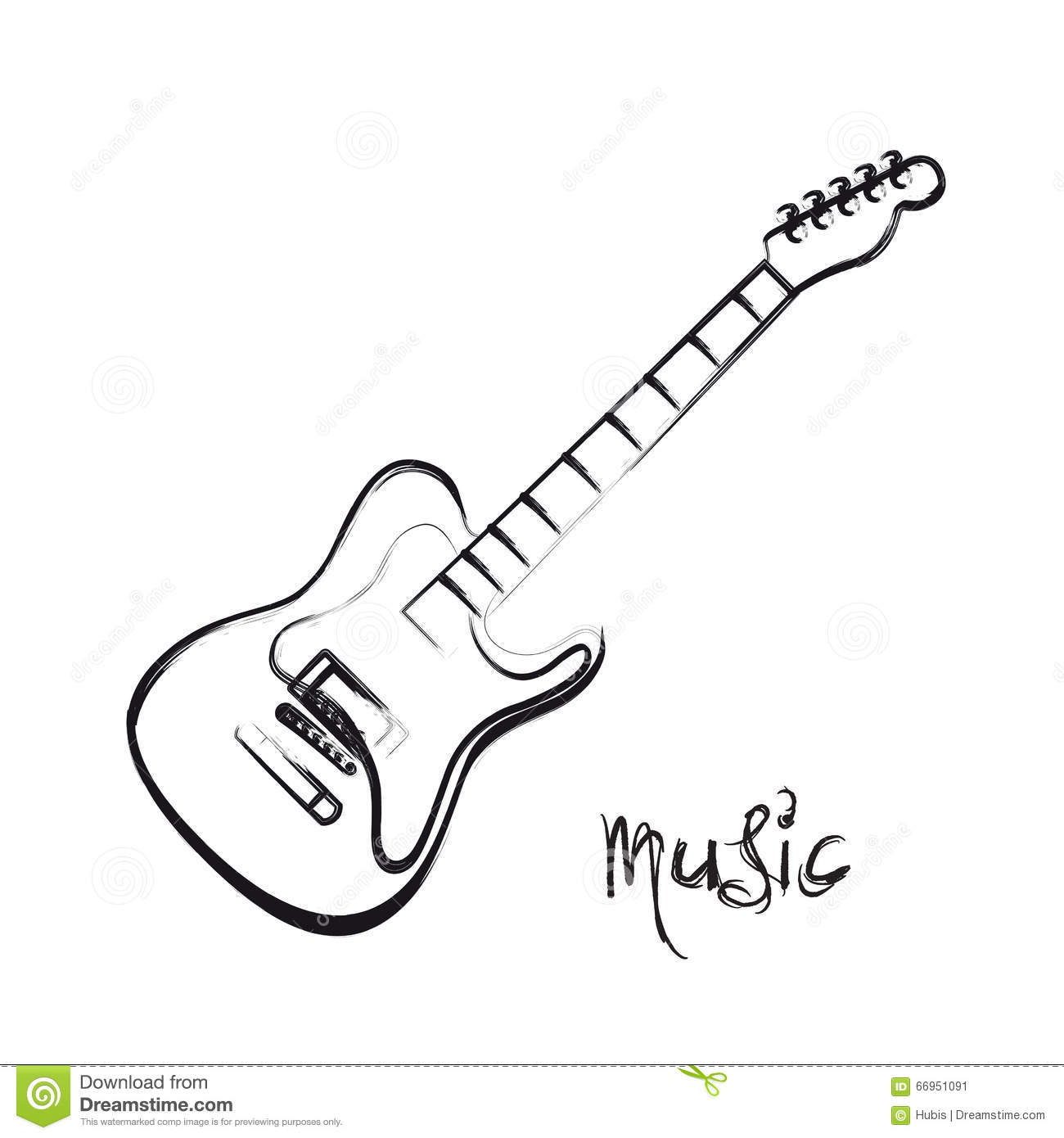 electric guitar hand drawn stock vector image 66951091 you rock clip art images thank you you rock clip art that moves