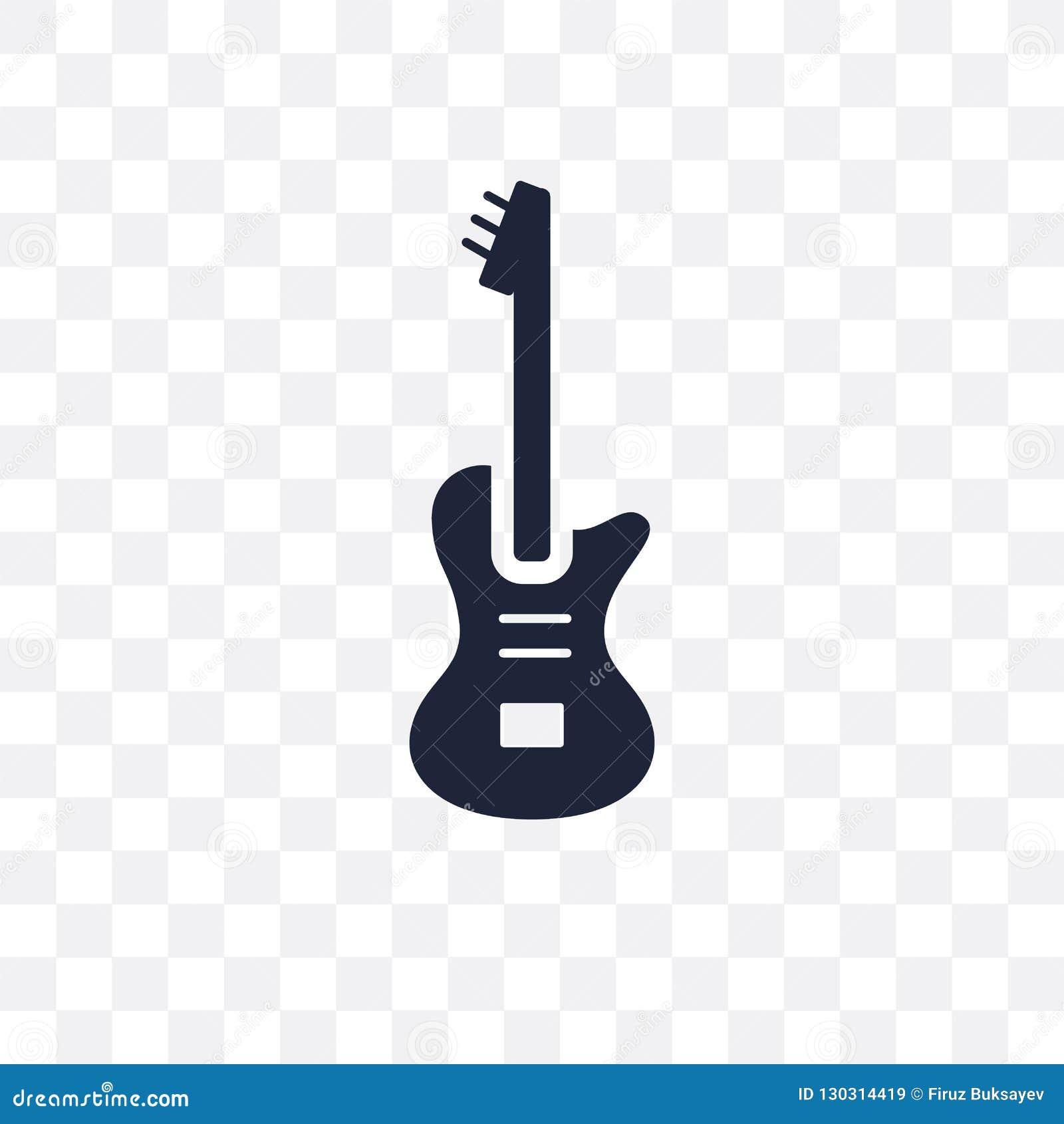 Electric Guitar Transparent Icon Electric Guitar Symbol Design Stock Vector Illustration Of Vector Concept 130314419