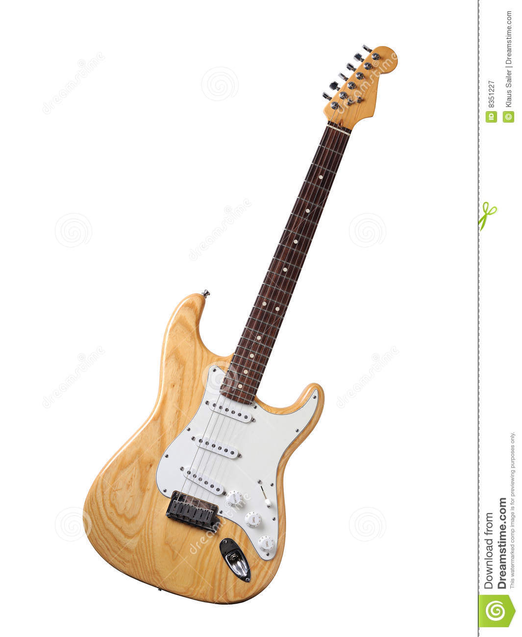 electric guitar wood finish stock image image of guitar studio 8351227. Black Bedroom Furniture Sets. Home Design Ideas